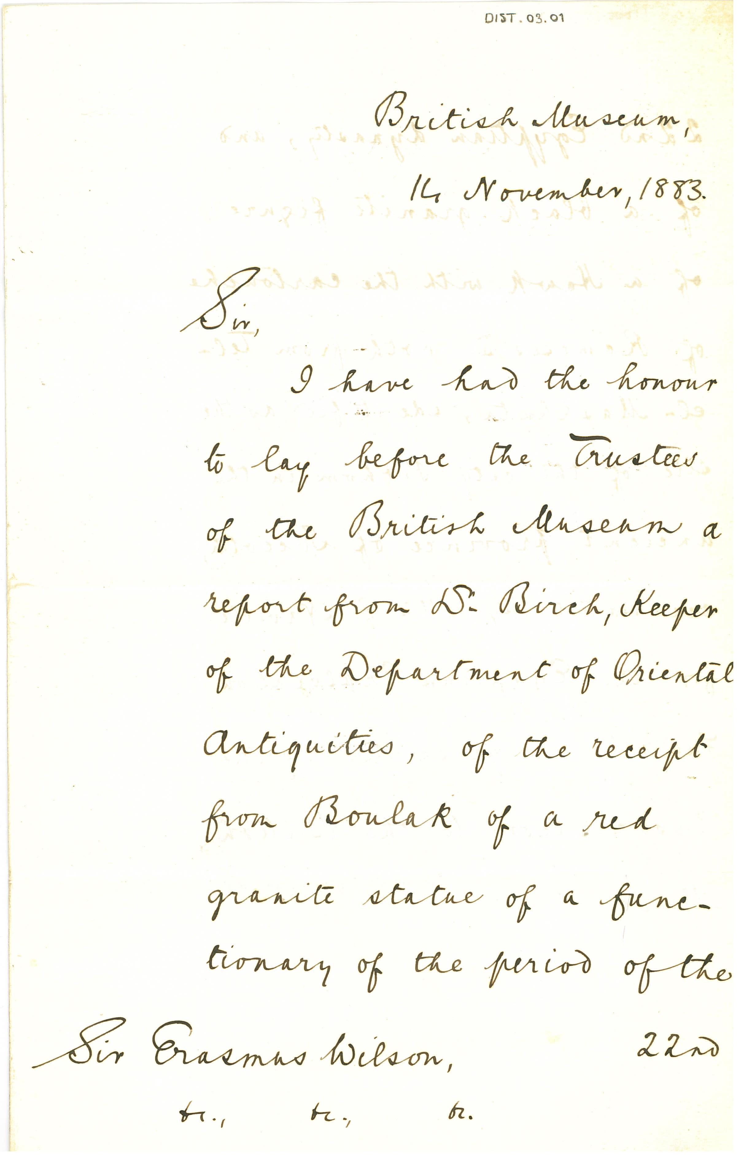 1883 Tell el-Maskhuta Correspondence DIST.03.01a