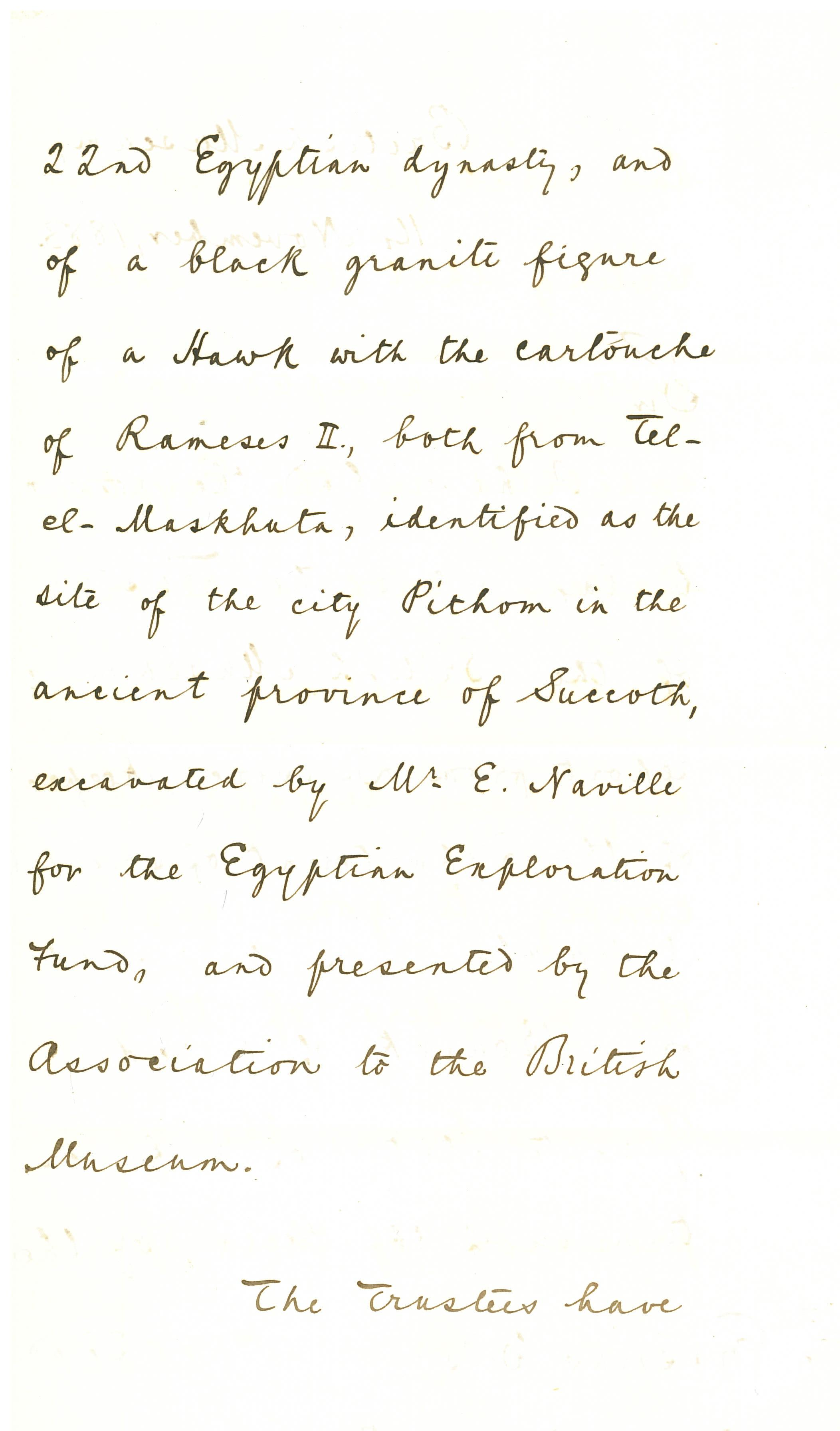 1883 Tell el-Maskhuta Correspondence DIST.03.01b