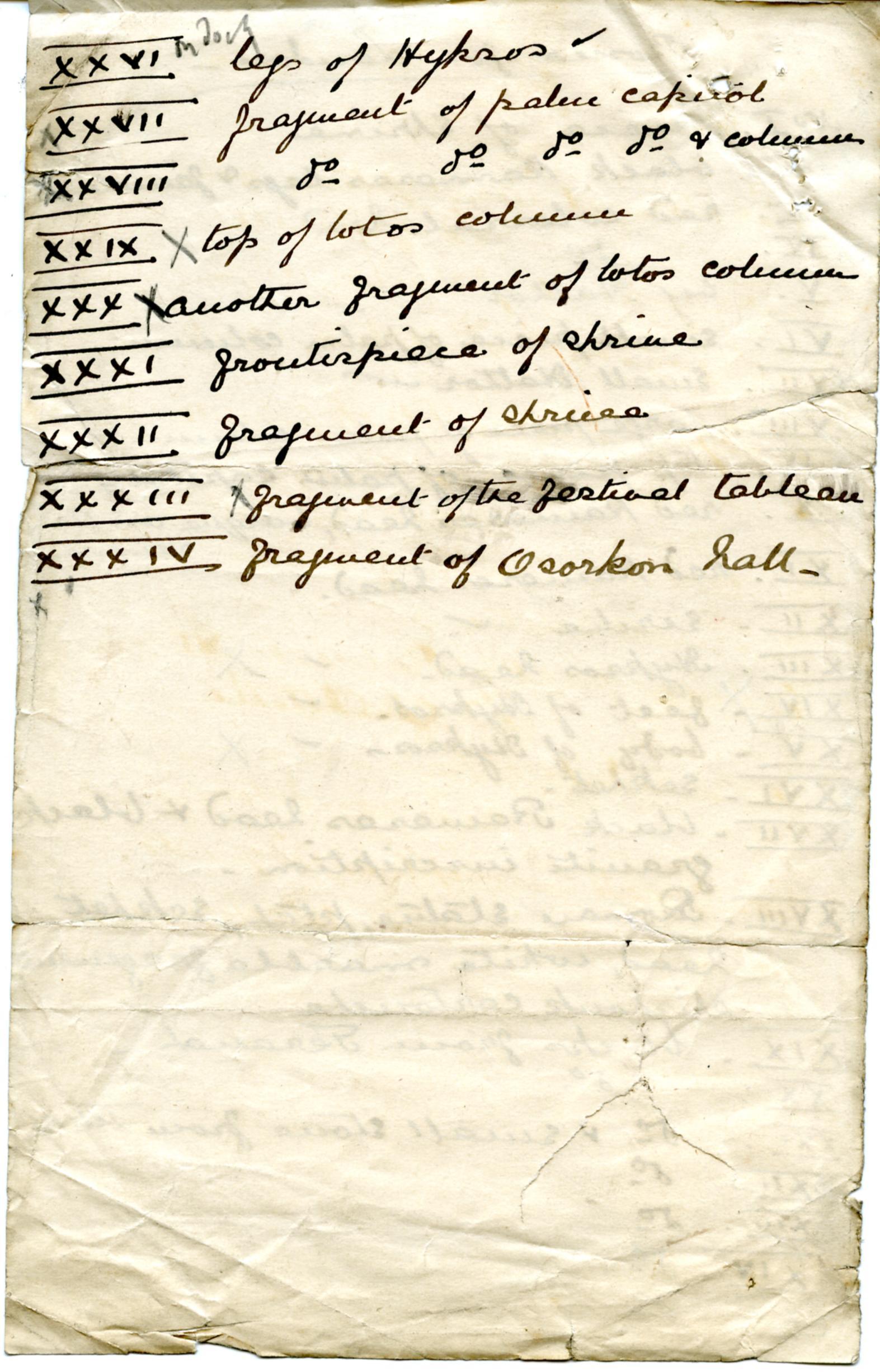 1887-1889 Tell el-Yahudiya, Teranneh, Heliopolis, Bubastis DIST.06.04b
