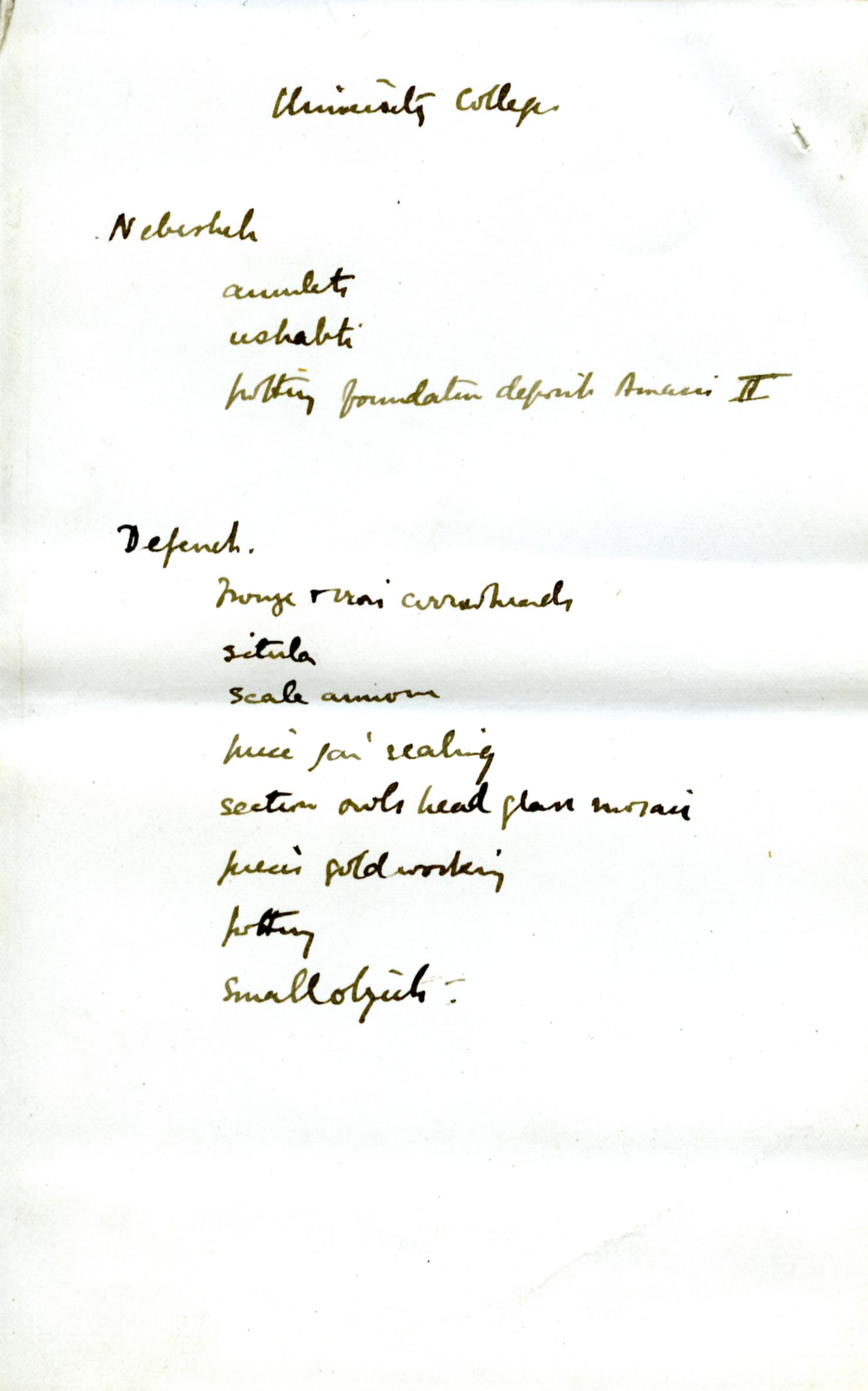 1886 Nebesheh Tell Dafana 1884 el-Qantara, Tell Gemayemi, Tell Sueilin DIST.09.09e