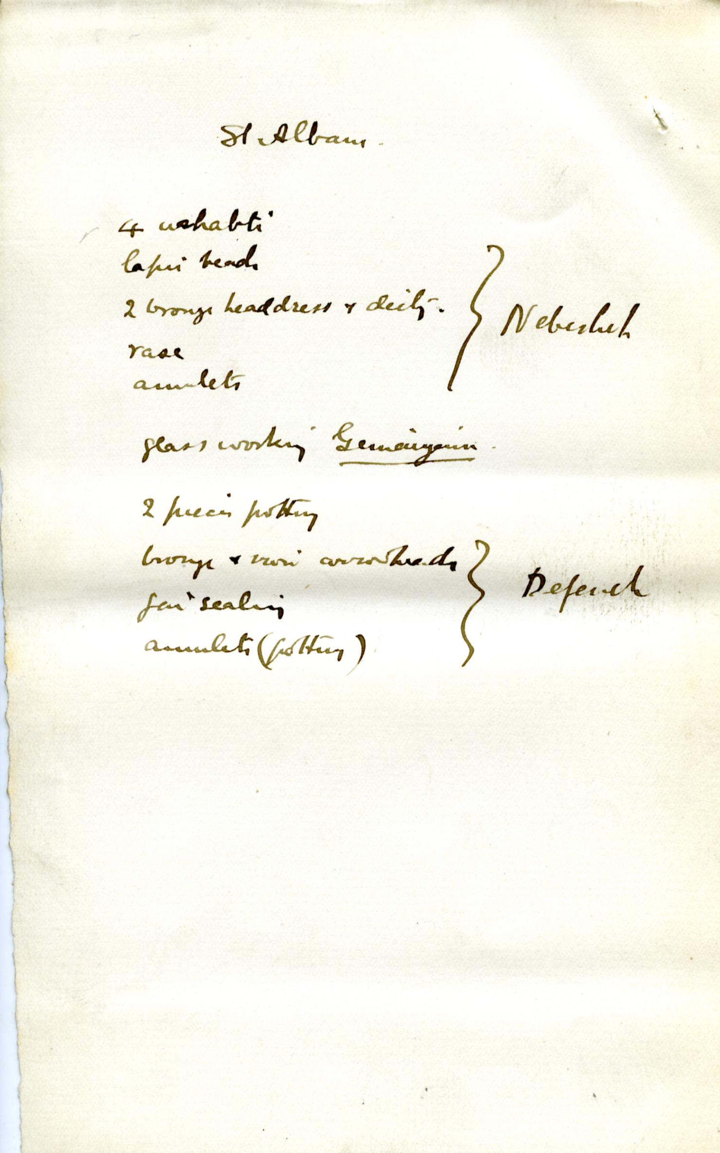 1886 Nebesheh Tell Dafana 1884 el-Qantara, Tell Gemayemi, Tell Sueilin DIST.09.09g
