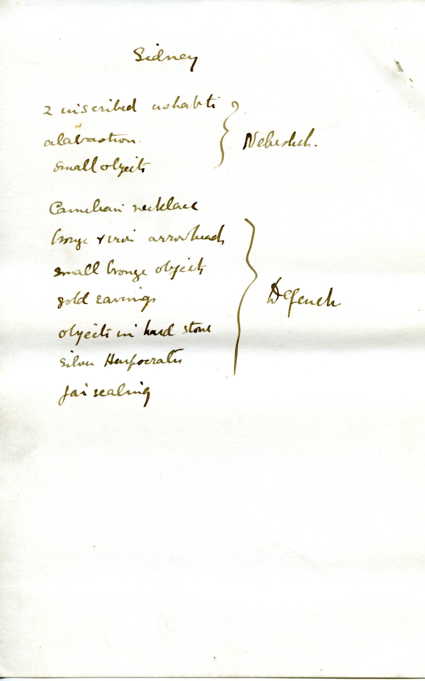 1886 Nebesheh Tell Dafana 1884 el-Qantara, Tell Gemayemi, Tell Sueilin DIST.09.09i