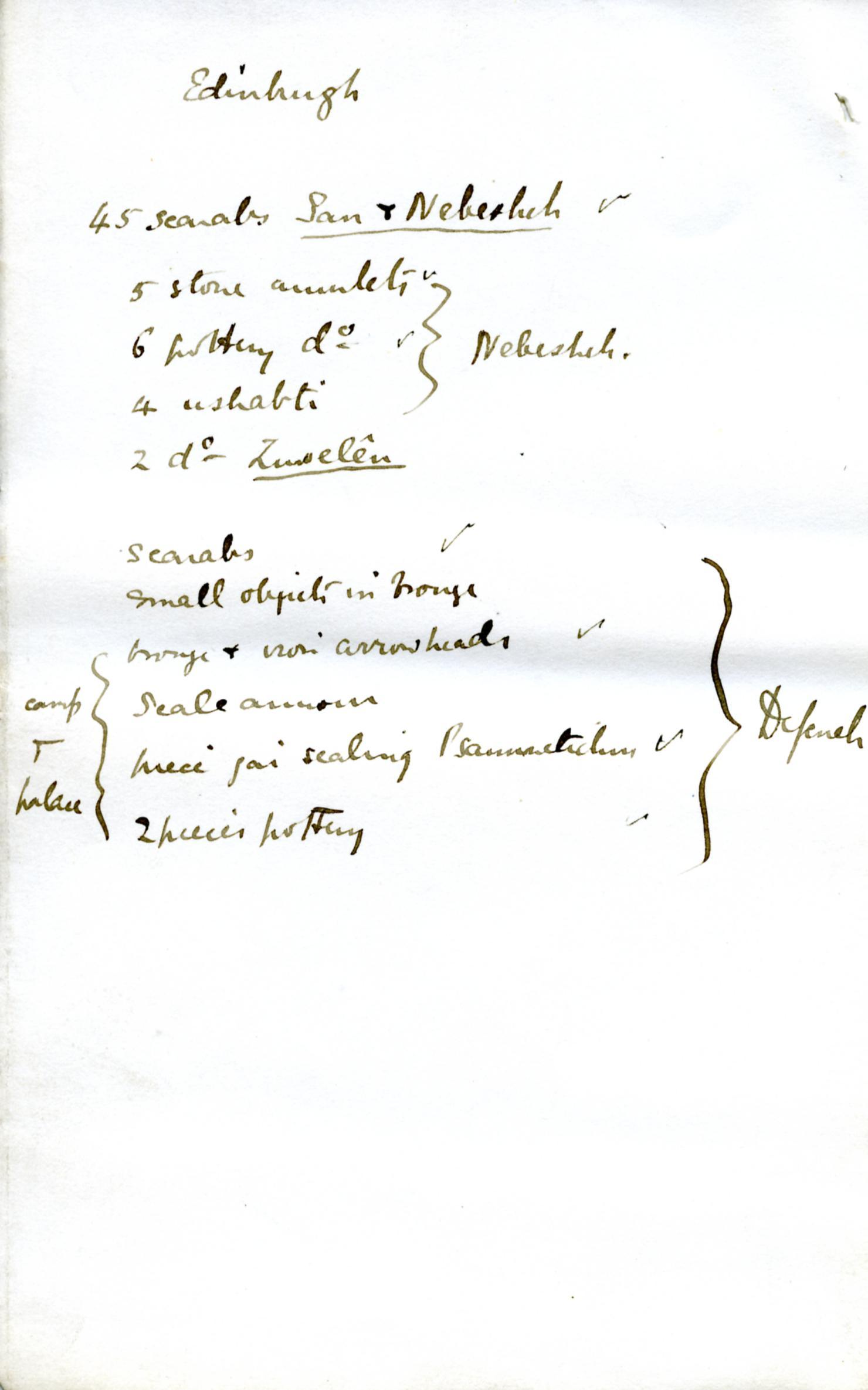 1886 Nebesheh Tell Dafana 1884 el-Qantara, Tell Gemayemi, Tell Sueilin DIST.09.09l