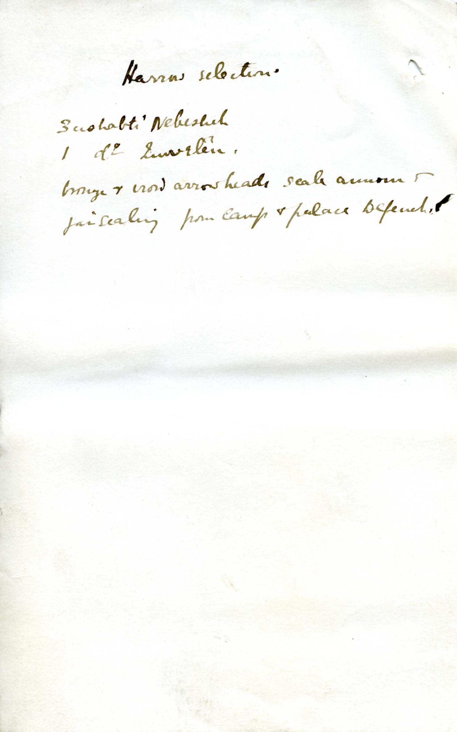 1886 Nebesheh Tell Dafana 1884 el-Qantara, Tell Gemayemi, Tell Sueilin DIST.09.09q