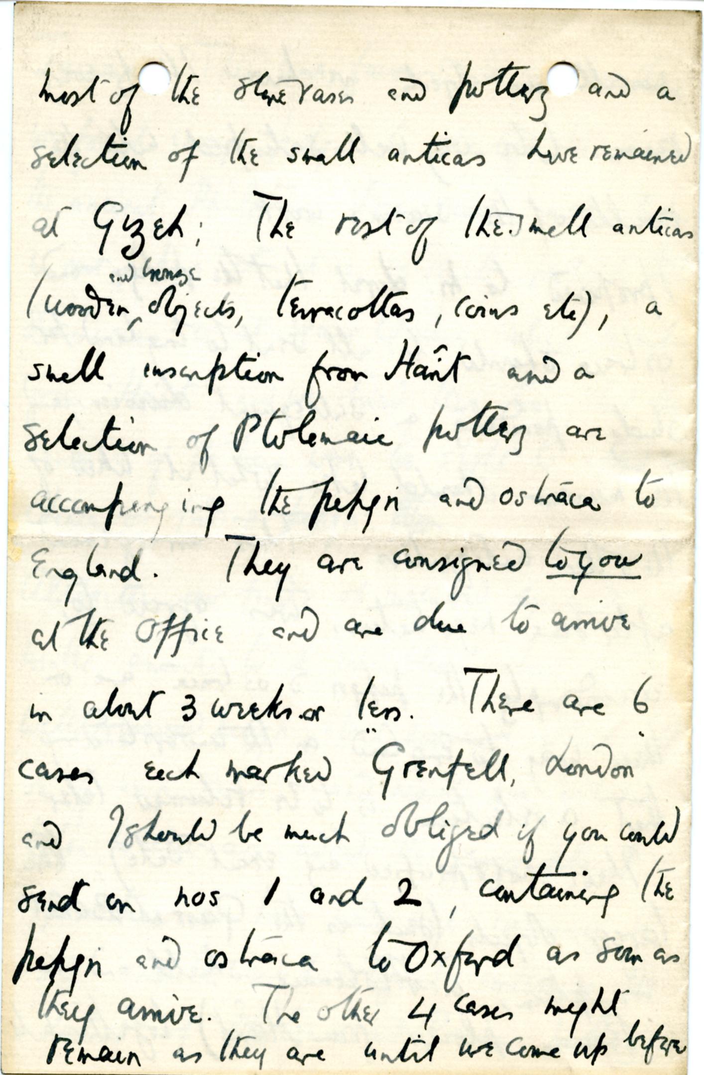 1884-1915 Oxyrhynchus, Faiyum, el-Hibeh, Atfieh, el-Sheikh Ibada DIST.15.11c