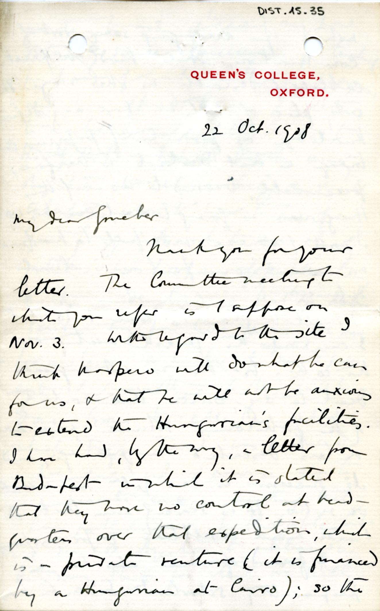 1884-1915 Oxyrhynchus, Faiyum, el-Hibeh, Atfieh, el-Sheikh Ibada DIST.15.35a