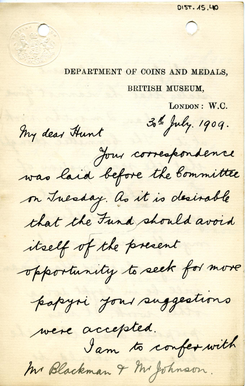 1884-1915 Oxyrhynchus, Faiyum, el-Hibeh, Atfieh, el-Sheikh Ibada DIST.15.40a