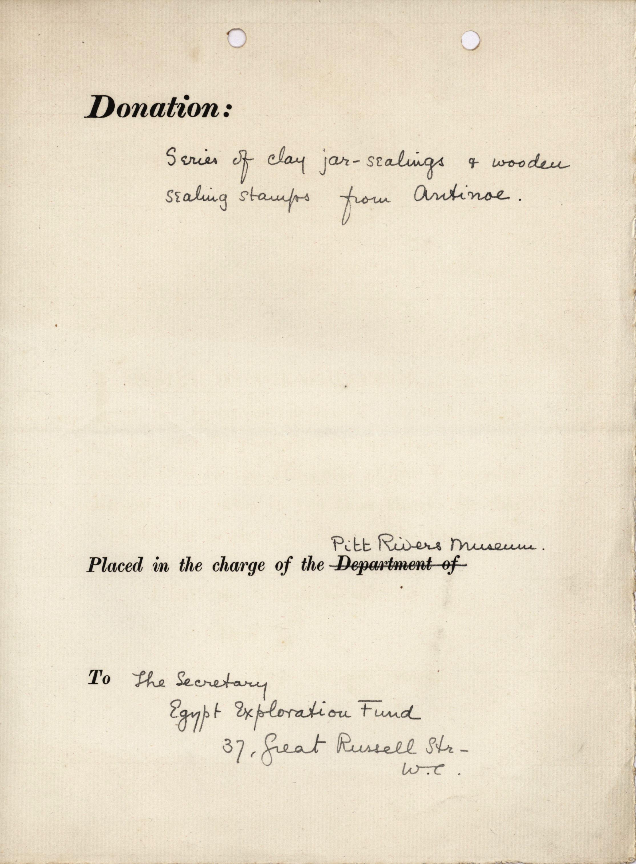 1884-1915 Oxyrhynchus, Faiyum, el-Hibeh, Atfieh, el-Sheikh Ibada DIST.15.87b