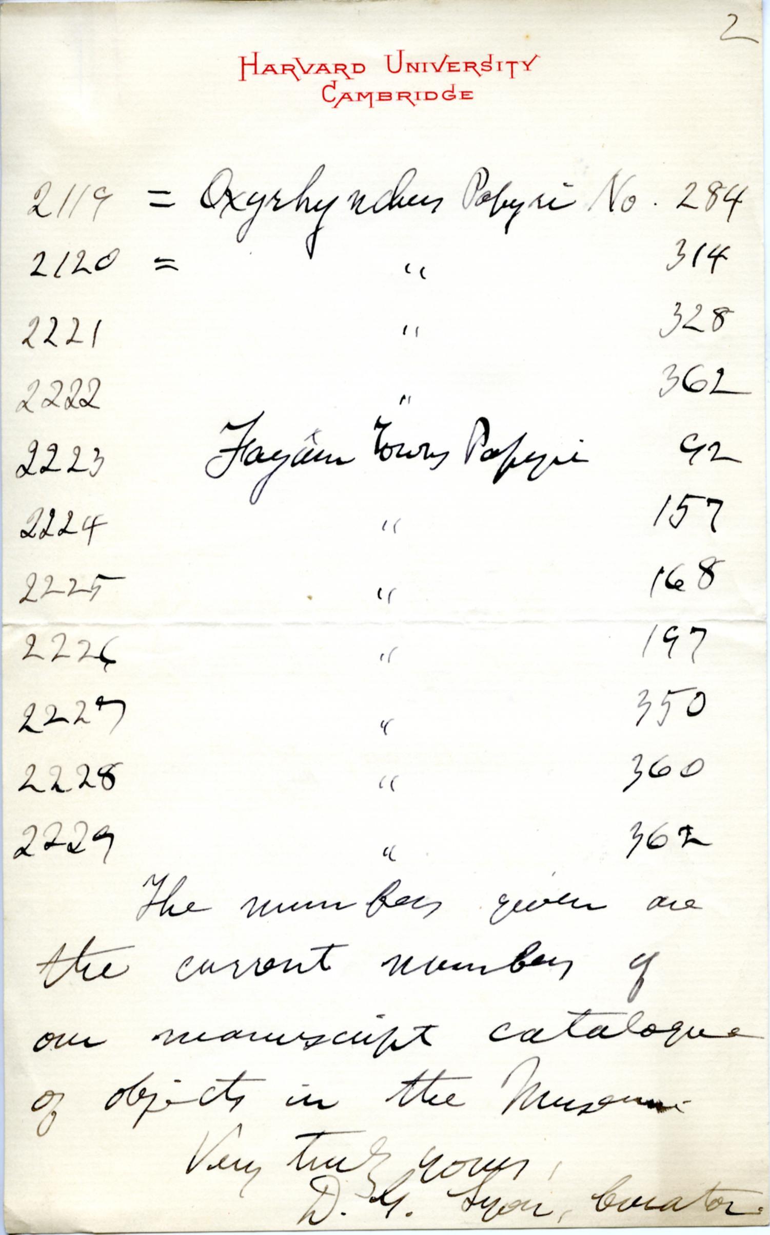1895-1903 Oxyrhynchus, Faiyum DIST.18.11b