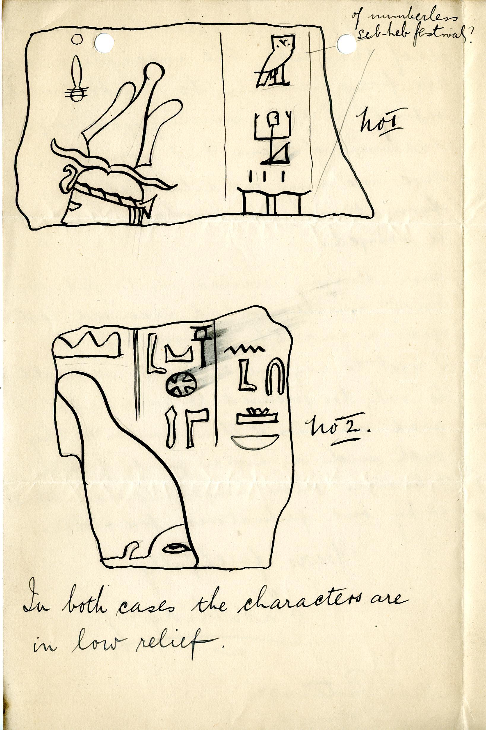 1902-04 Abydos, Deir el-Bahri, Oxyrhynchus, Ihnasya DIST.20.036c