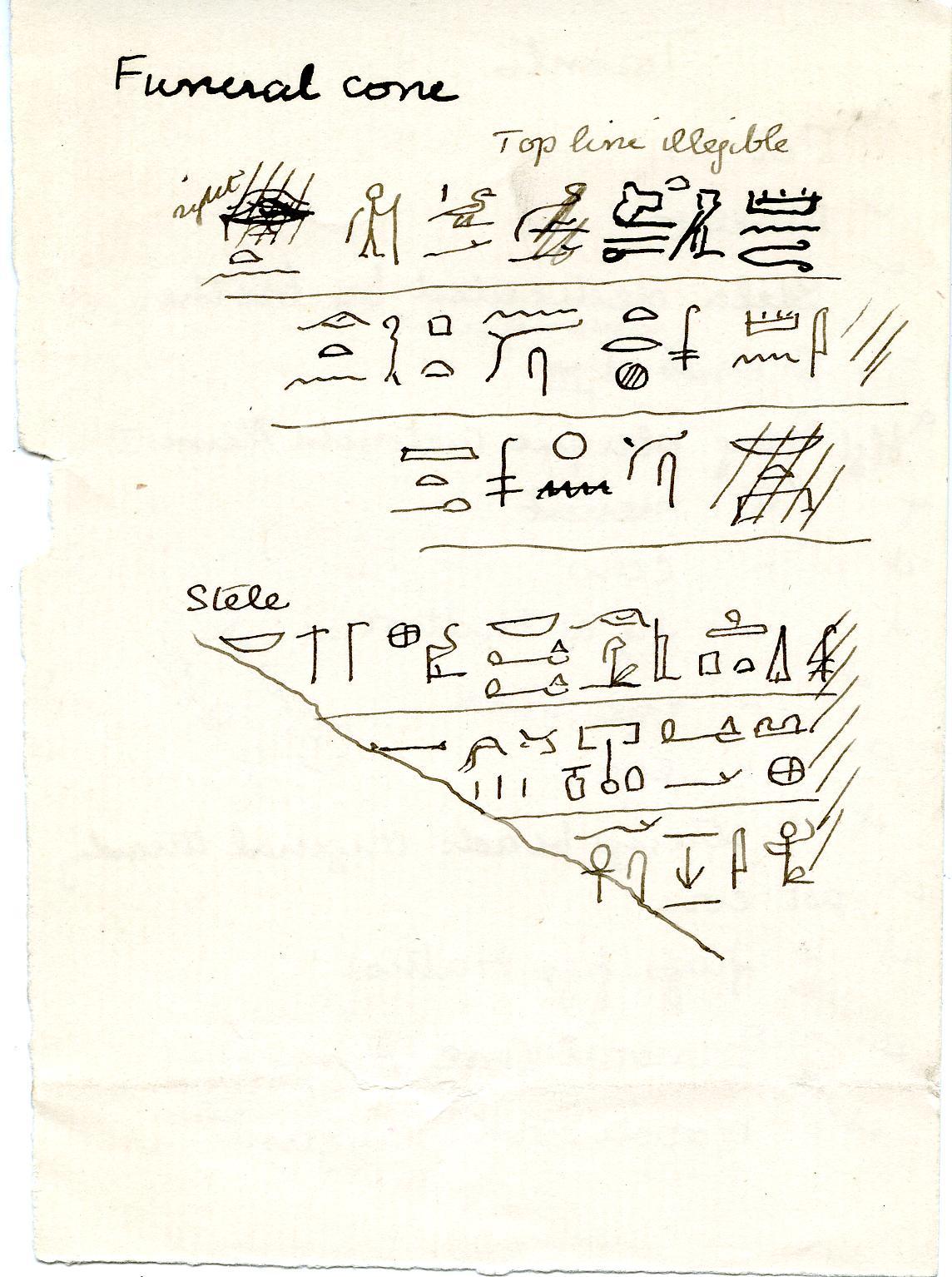 1902-04 Abydos, Deir el-Bahri, Oxyrhynchus, Ihnasya DIST.20.105b