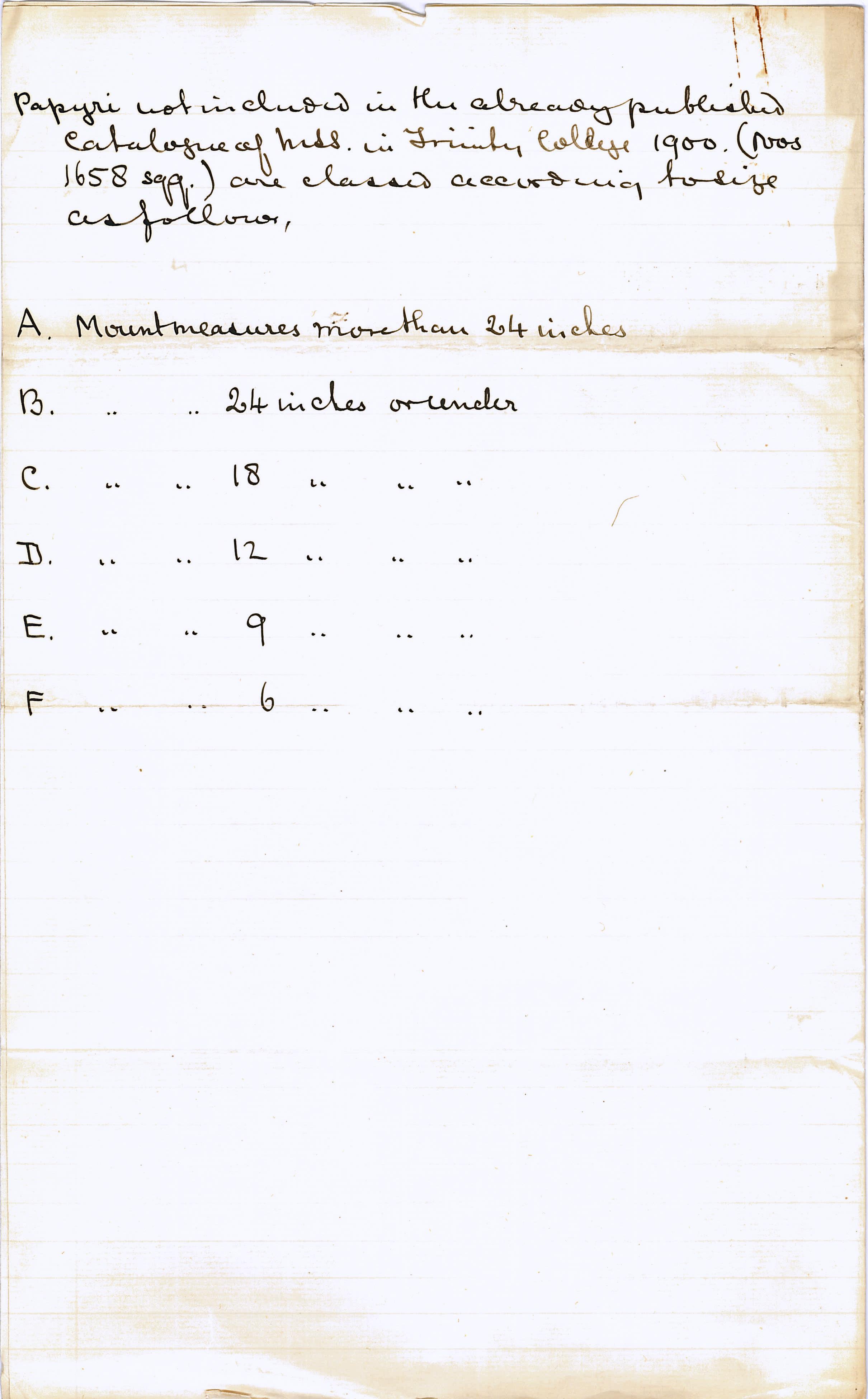 1902-07 Oxyrhynchus, Faiyum, el-Hibeh DIST.22.03b