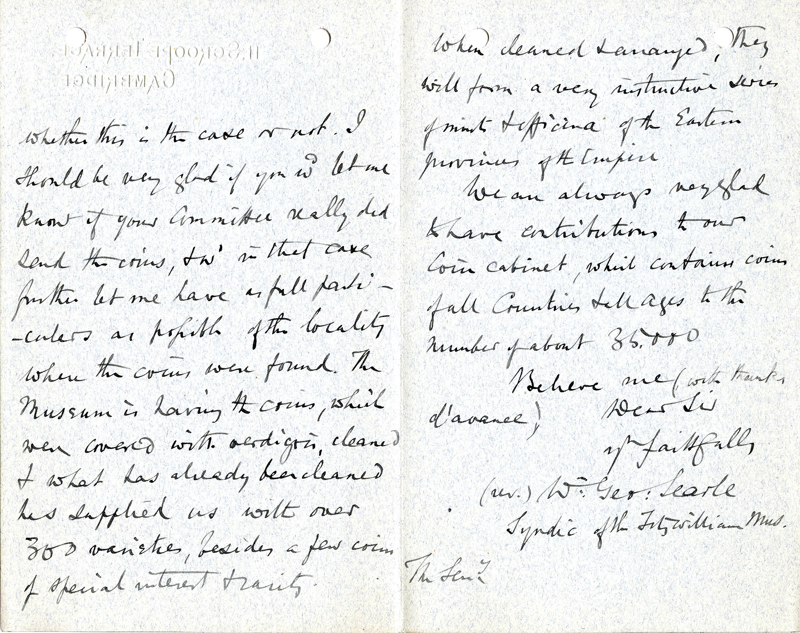1904-05 Sinai, Deir el-Bahri, Oxyrhynchus, Naukratis DIST.23.28b