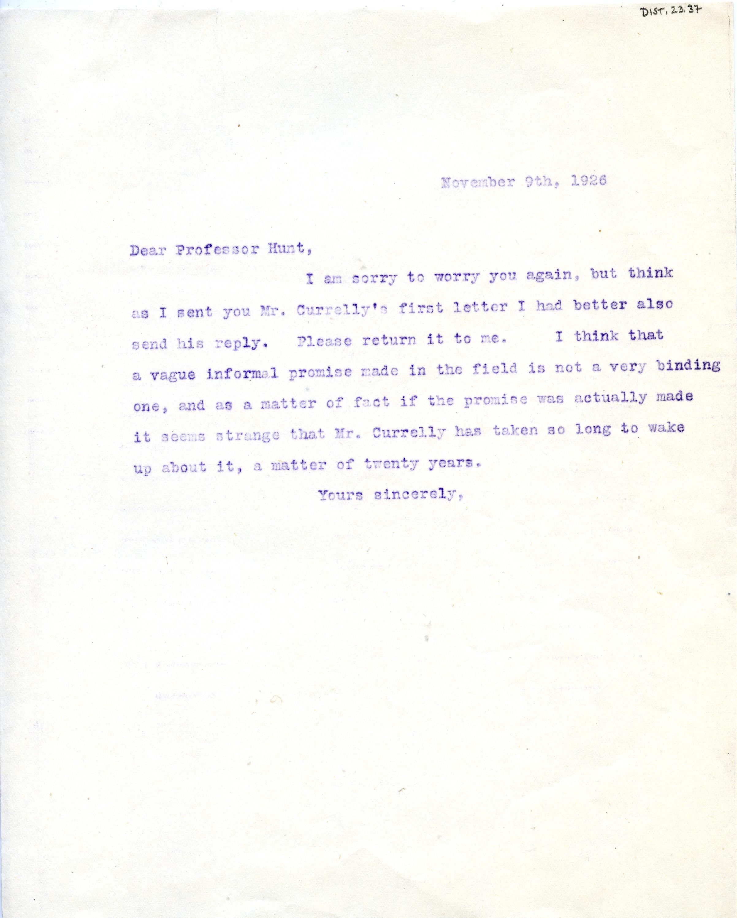 1904-05 Sinai, Deir el-Bahri, Oxyrhynchus, Naukratis DIST.23.37