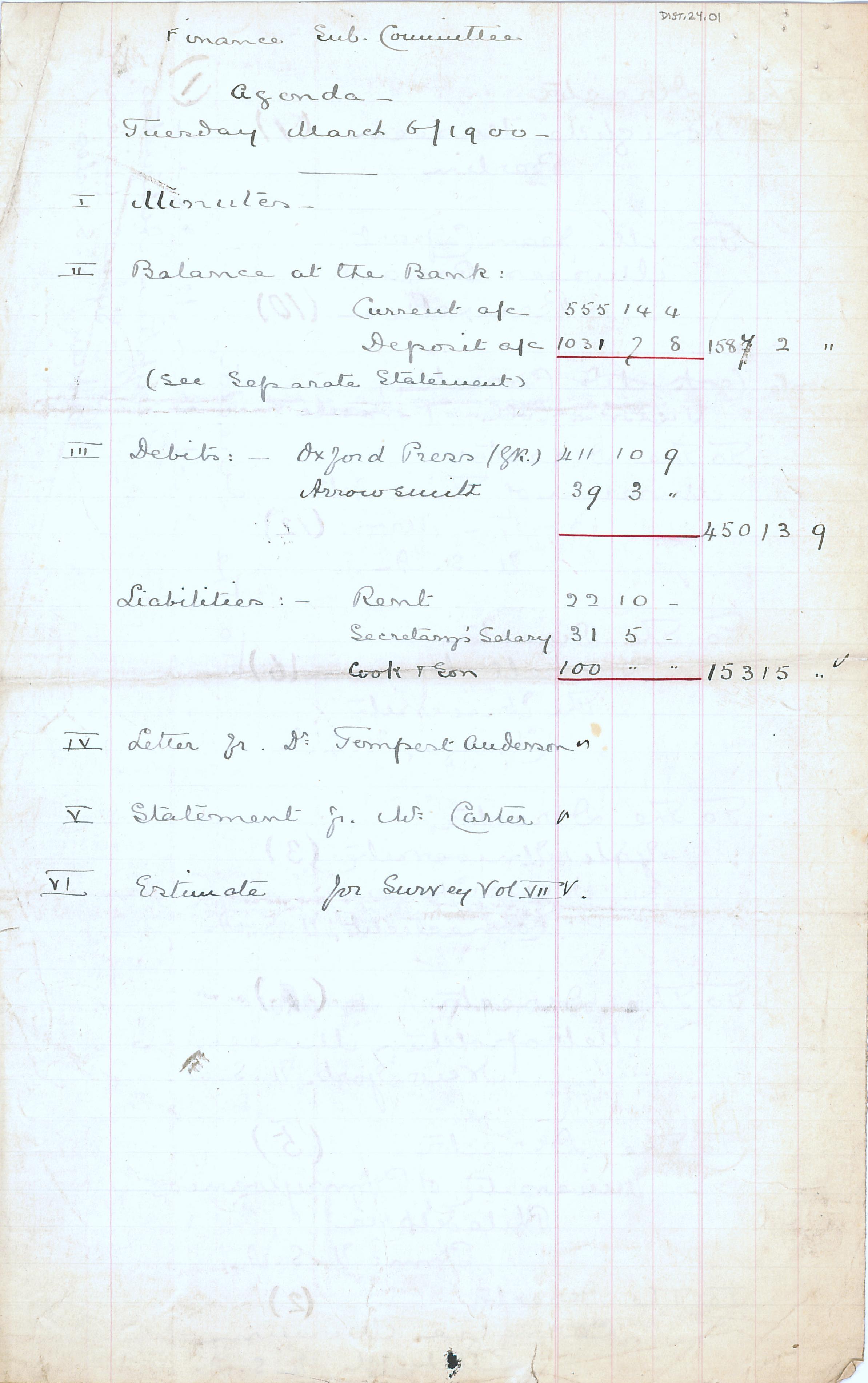 1904-05 Deir el-Bahri, Sinai, Oxyrhynchus DIST.24.01a
