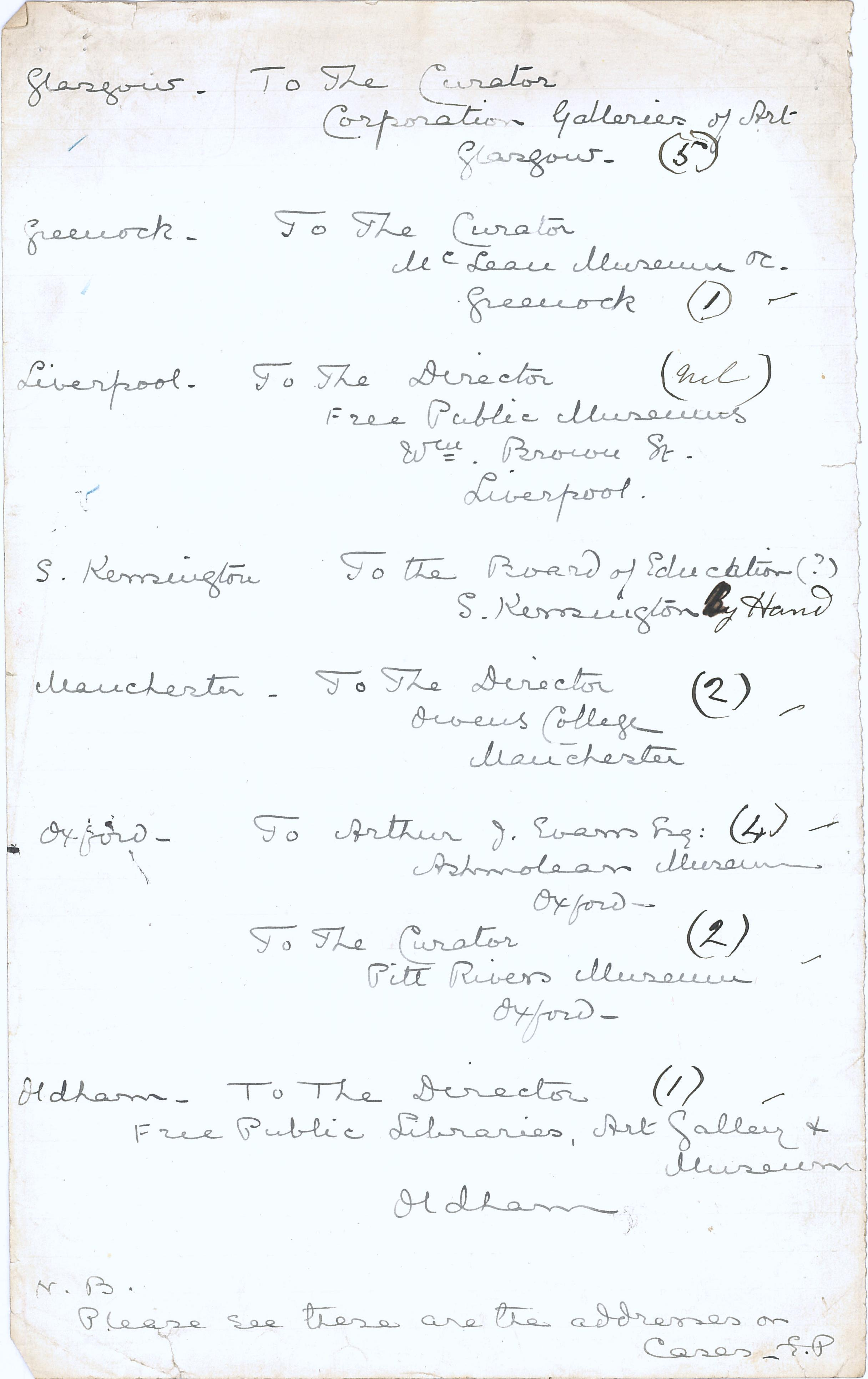 1904-05 Deir el-Bahri, Sinai, Oxyrhynchus DIST.24.03b