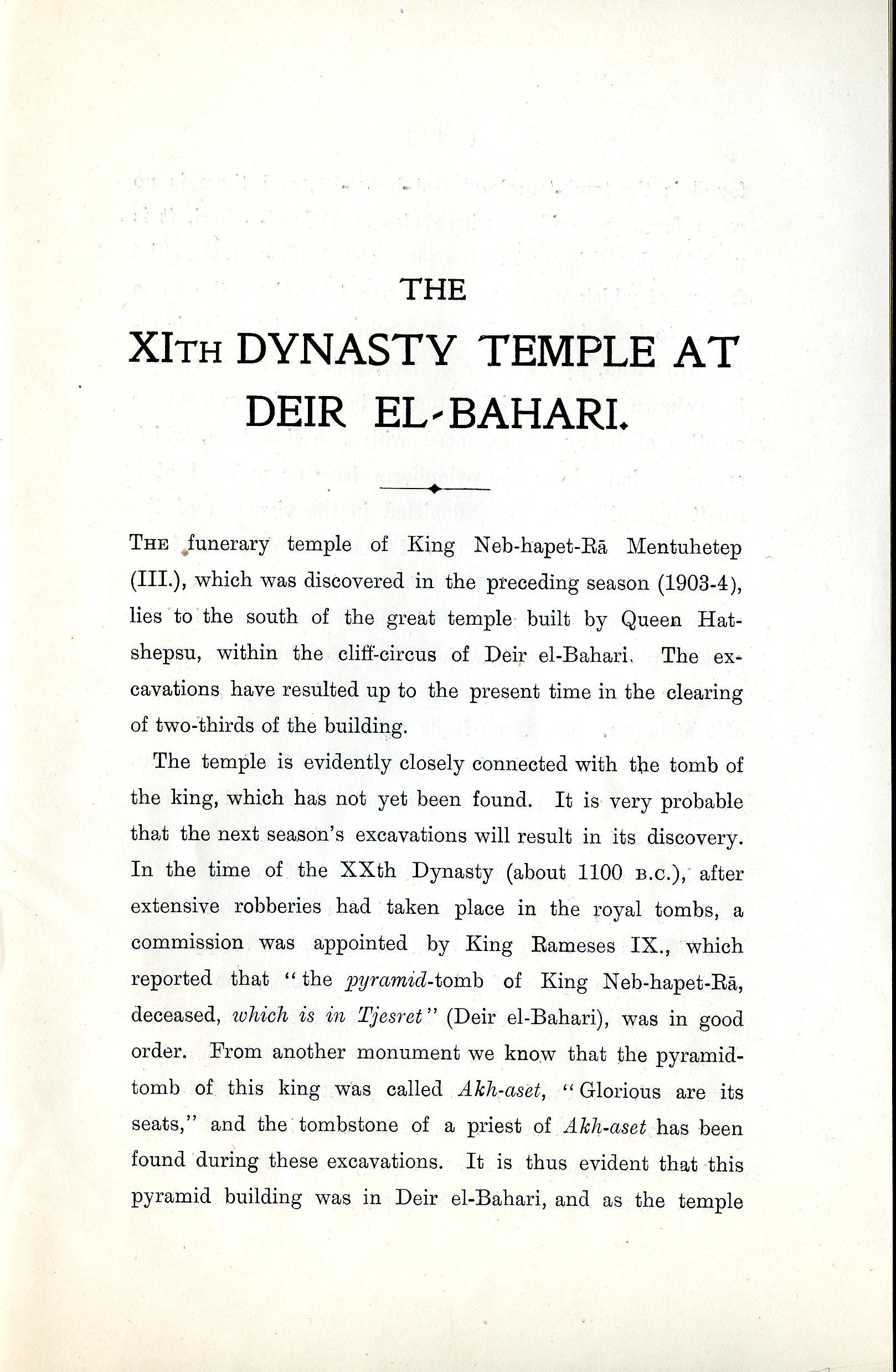 1904-05 Deir el-Bahri, Sinai, Oxyrhynchus DIST.24.04c