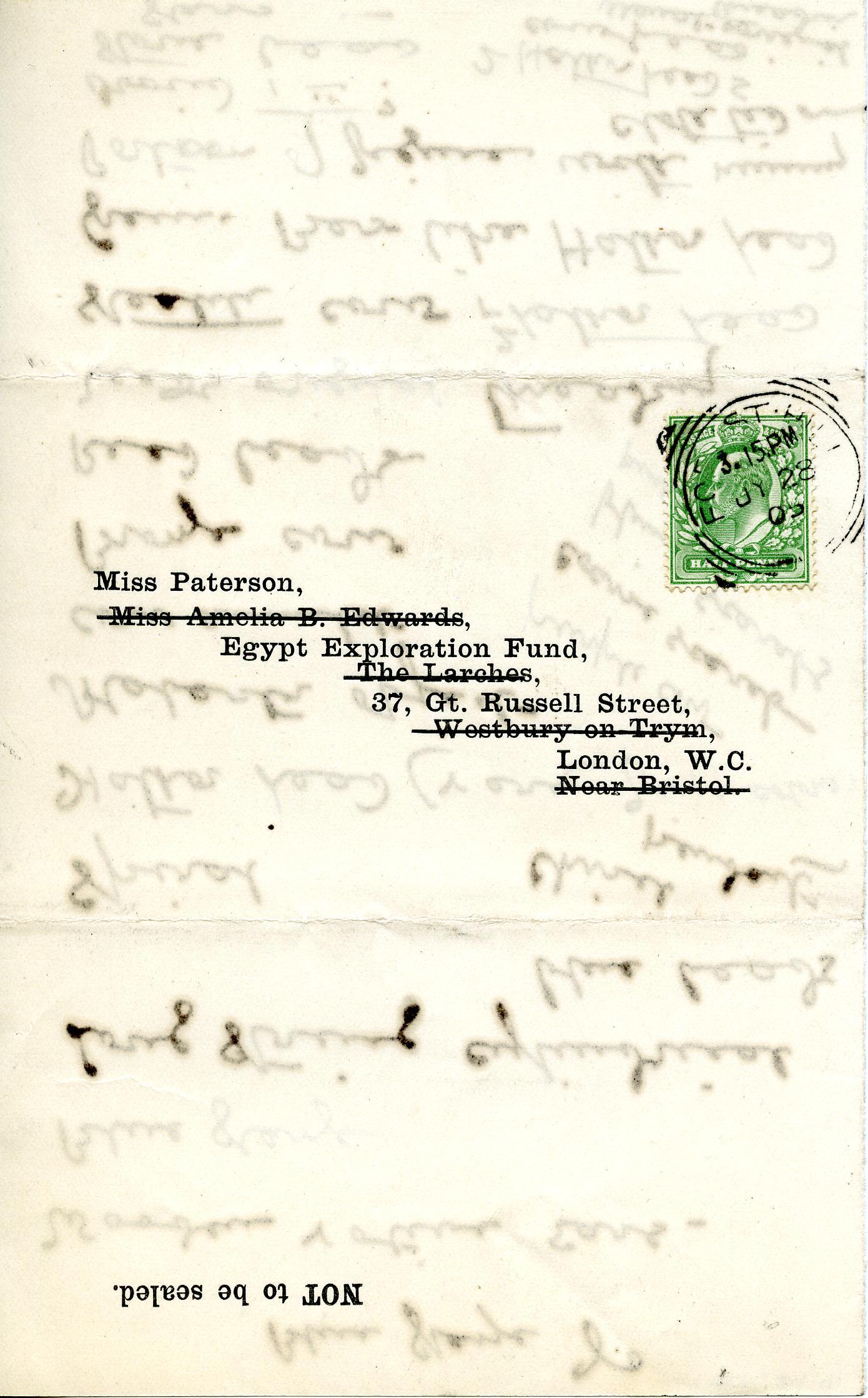 1904-05 Deir el-Bahri, Sinai, Oxyrhynchus DIST.24.41b