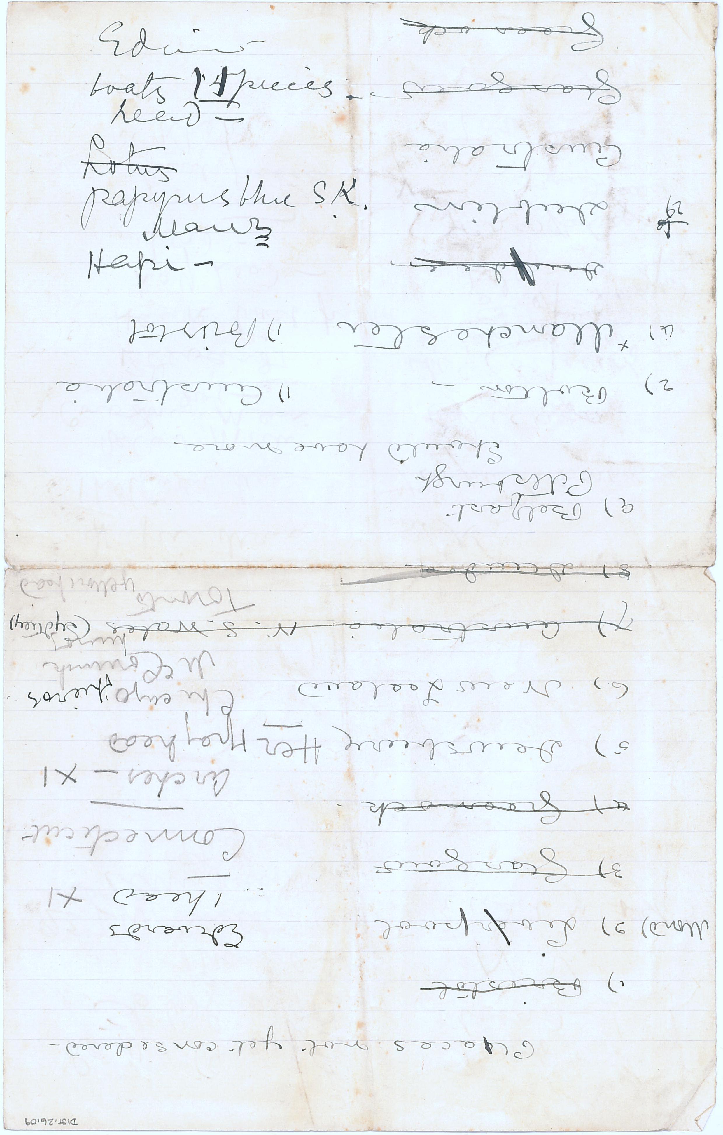1905-06 Deir el-Bahri, Oxyrhynchus DIST.26.09a