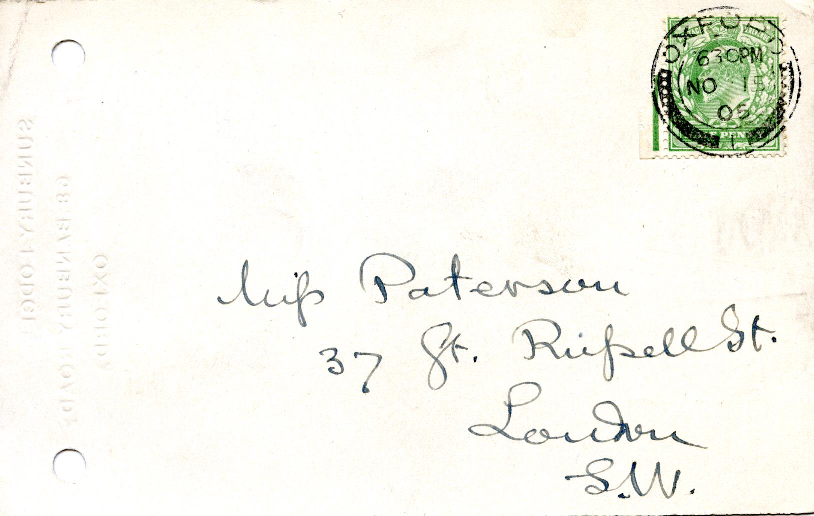 1905-06 Oxyrhynchus, el-Hibeh, Faiyum DIST.27.05b