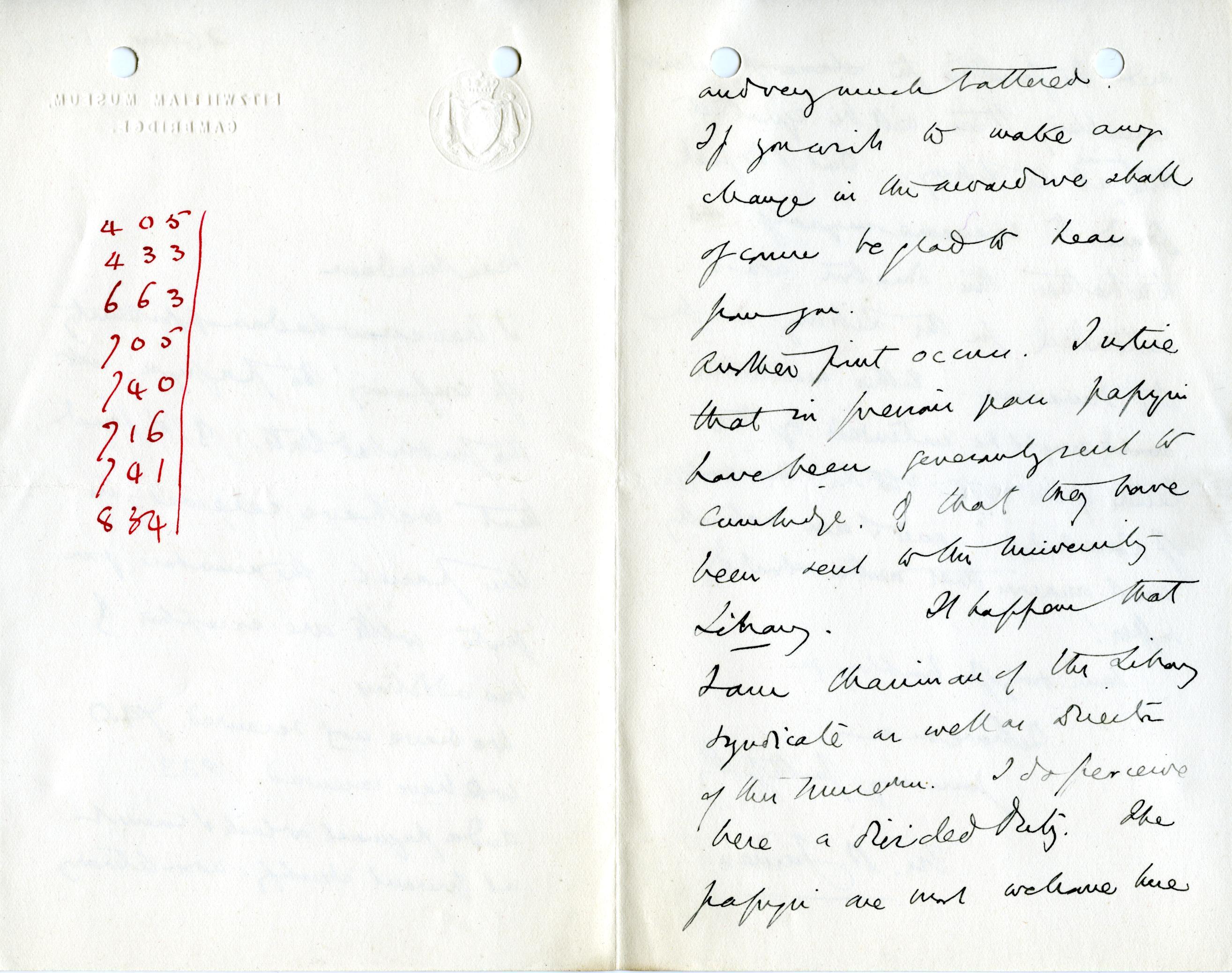 1905-06 Oxyrhynchus, el-Hibeh, Faiyum DIST.27.08b