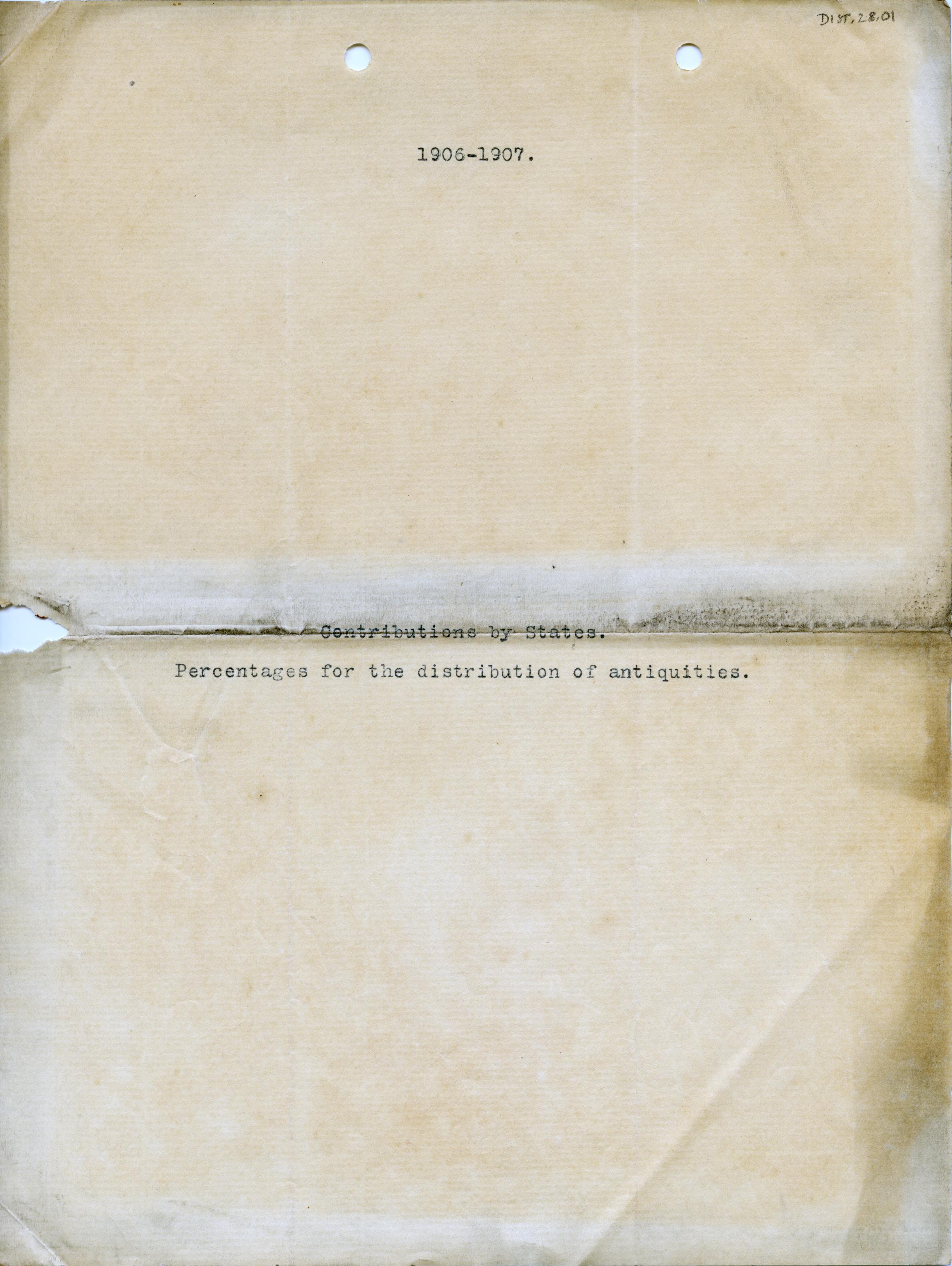 1906-07 Deir el-Bahri, Oxyrhynchus, Ihnasya DIST.28.01a