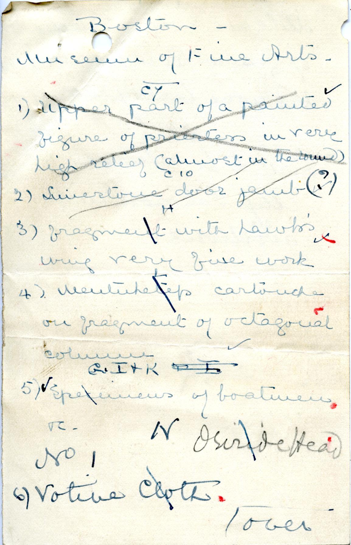 1906-07 Deir el-Bahri, Oxyrhynchus, Ihnasya DIST.28.04e