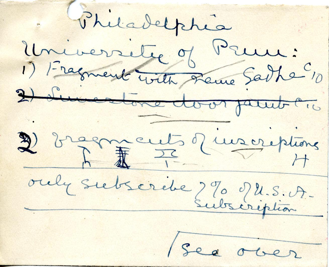 1906-07 Deir el-Bahri, Oxyrhynchus, Ihnasya DIST.28.04n