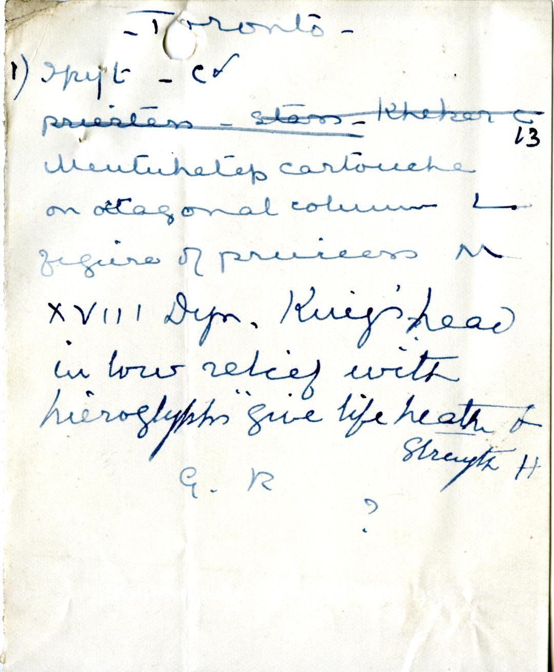 1906-07 Deir el-Bahri, Oxyrhynchus, Ihnasya DIST.28.04p