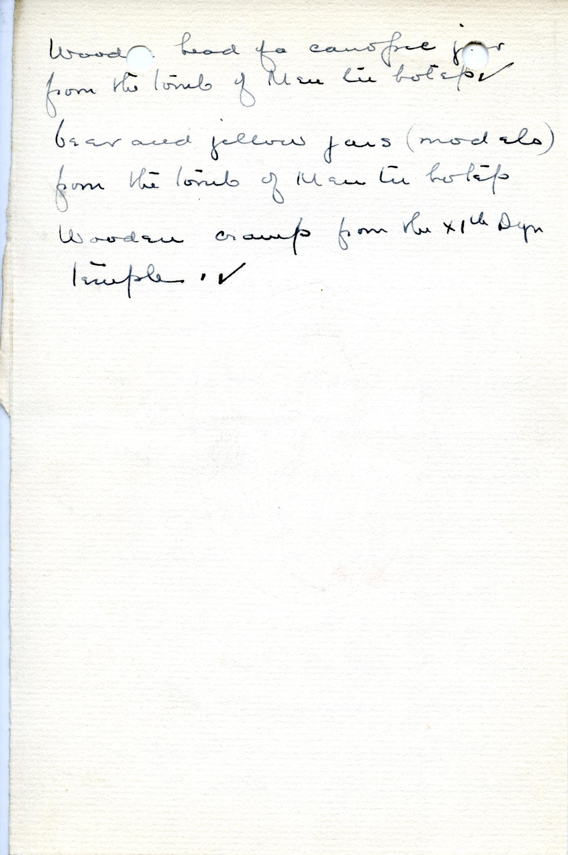 1906-07 Deir el-Bahri, Oxyrhynchus, Ihnasya DIST.28.07d