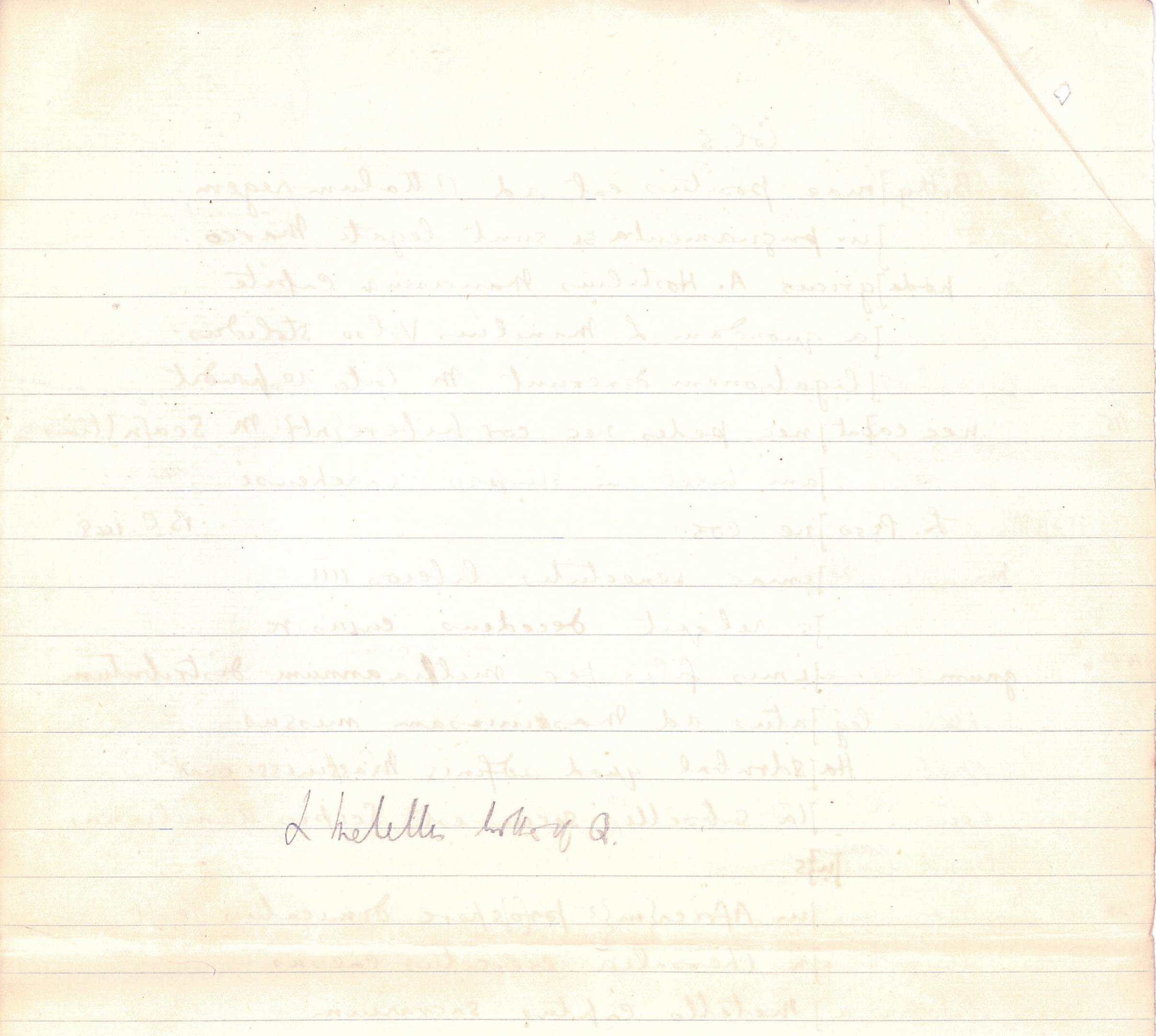 1908-09 A.S. Hunt, letters re papyri from continental scholars DIST.30.06g