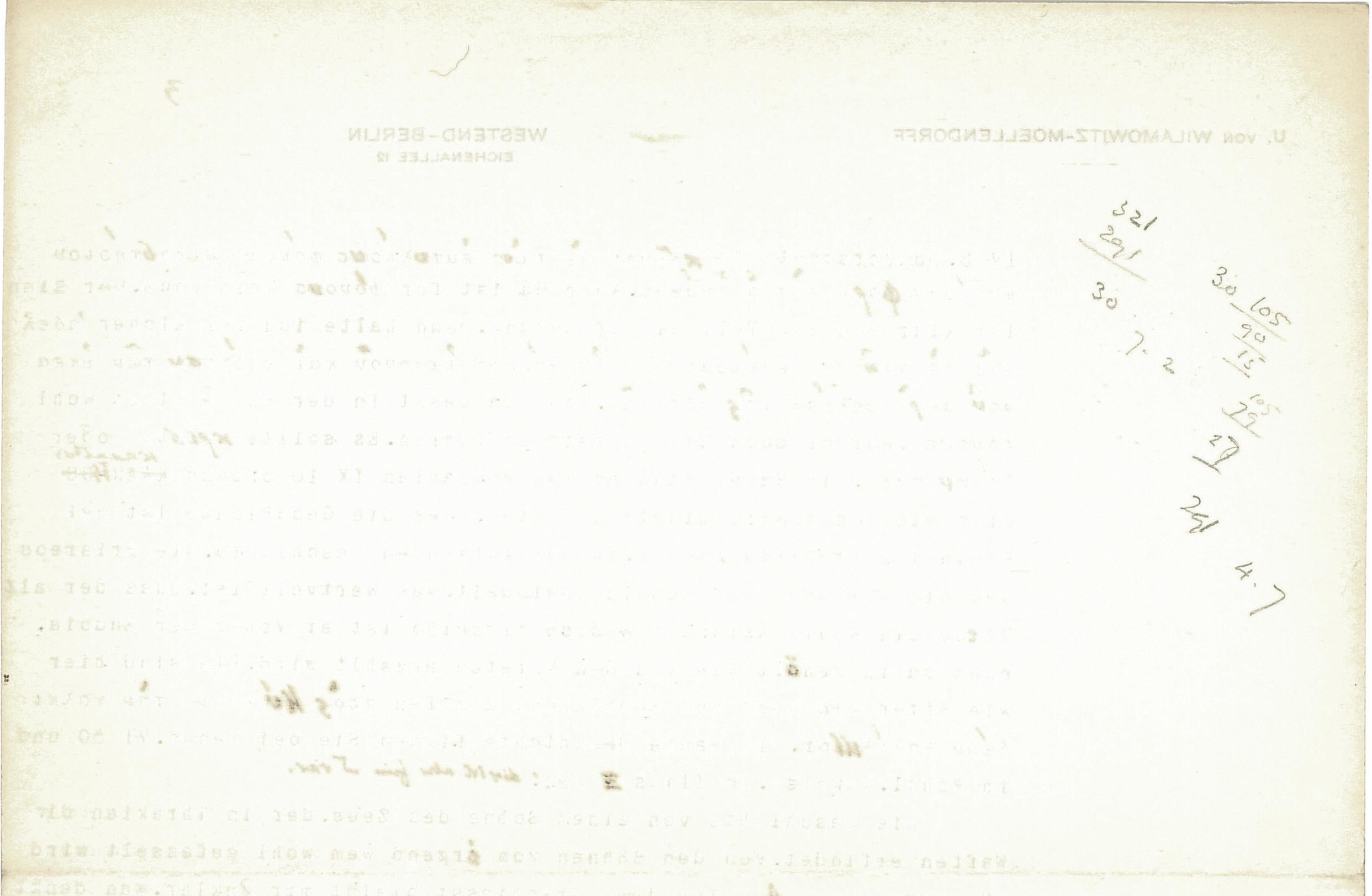 1908-09 A.S. Hunt, letters re papyri from continental scholars DIST.30.17e