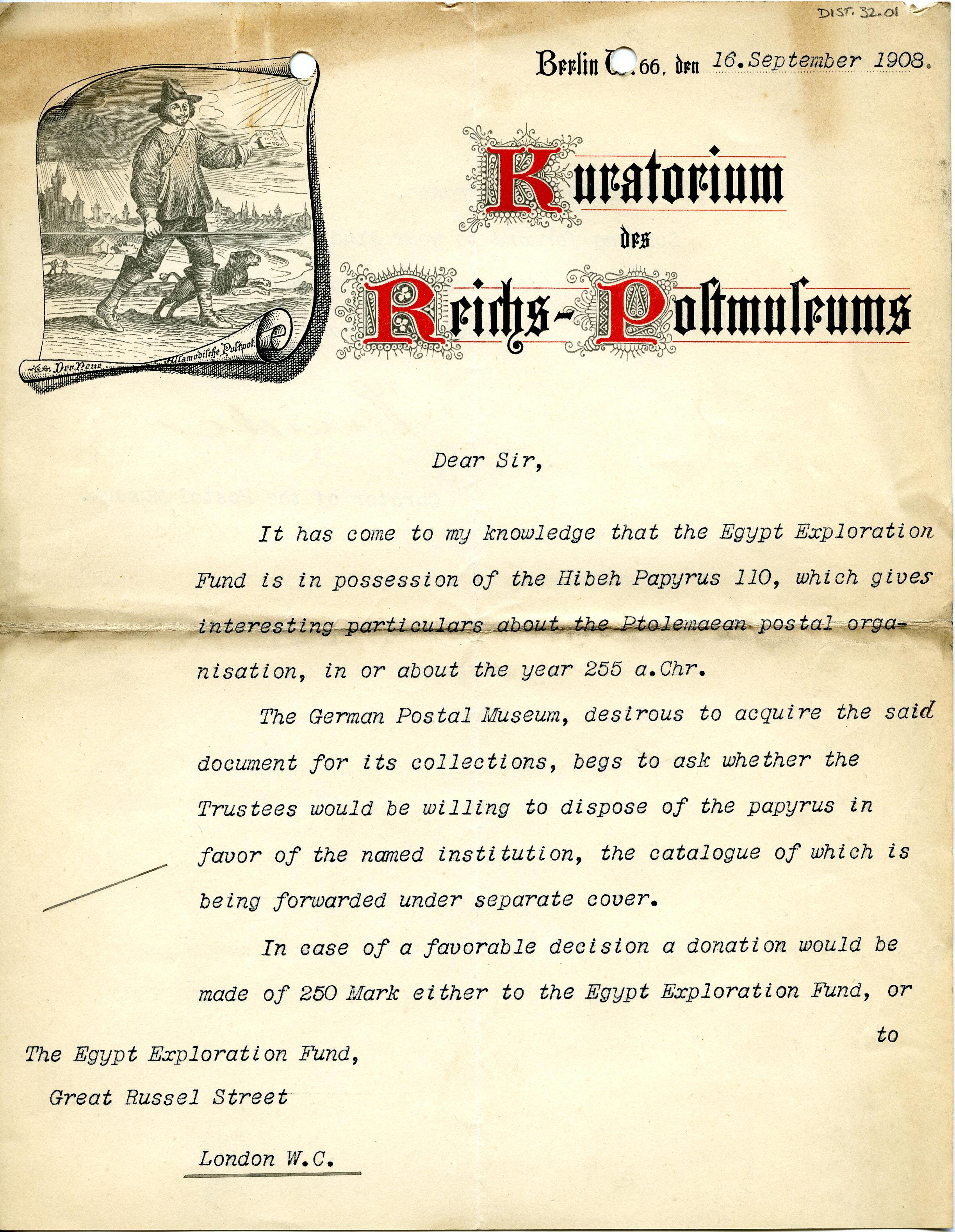 1908-13 Papyri DIST.32.01a
