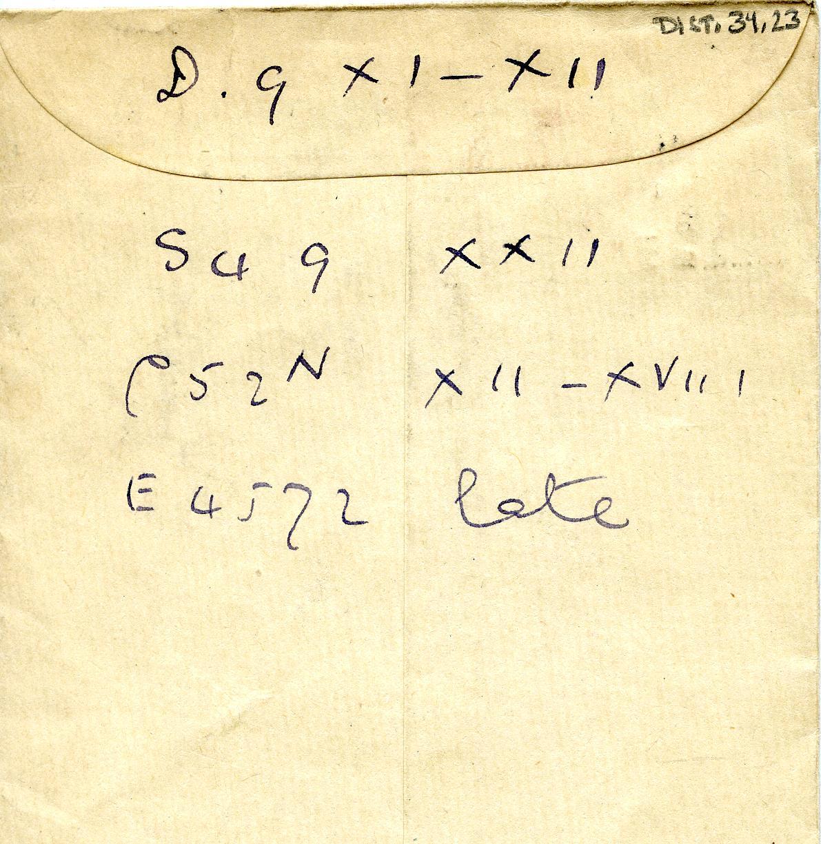 1910-11 Abydos, Atfieh DIST.34.23a