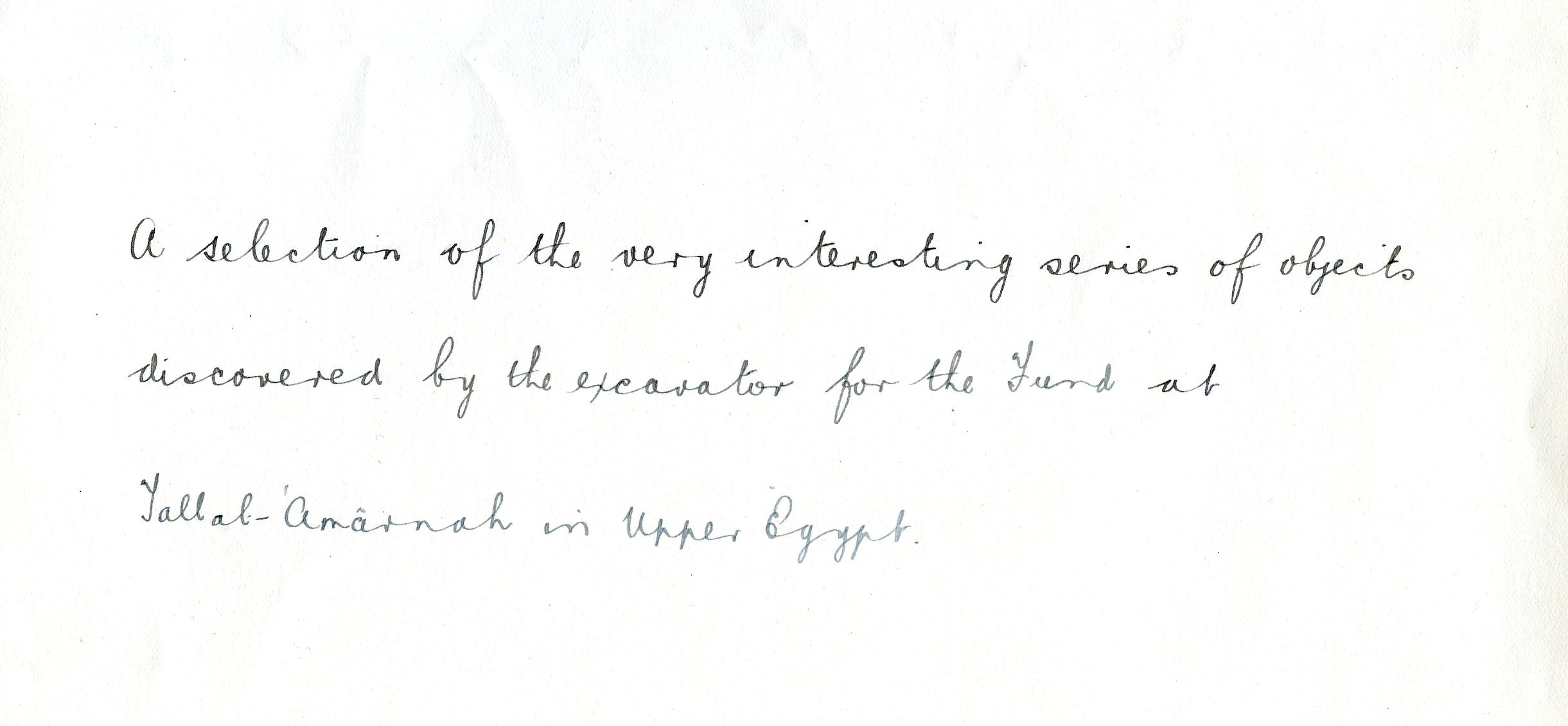 1921-22 Tell el-Amarna DIST.39.18b