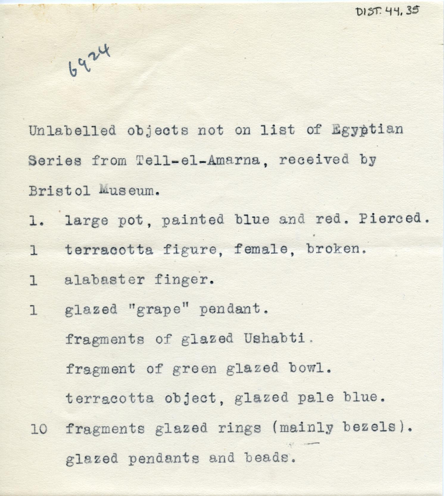 1923-25 el-Amarna DIST.44.35