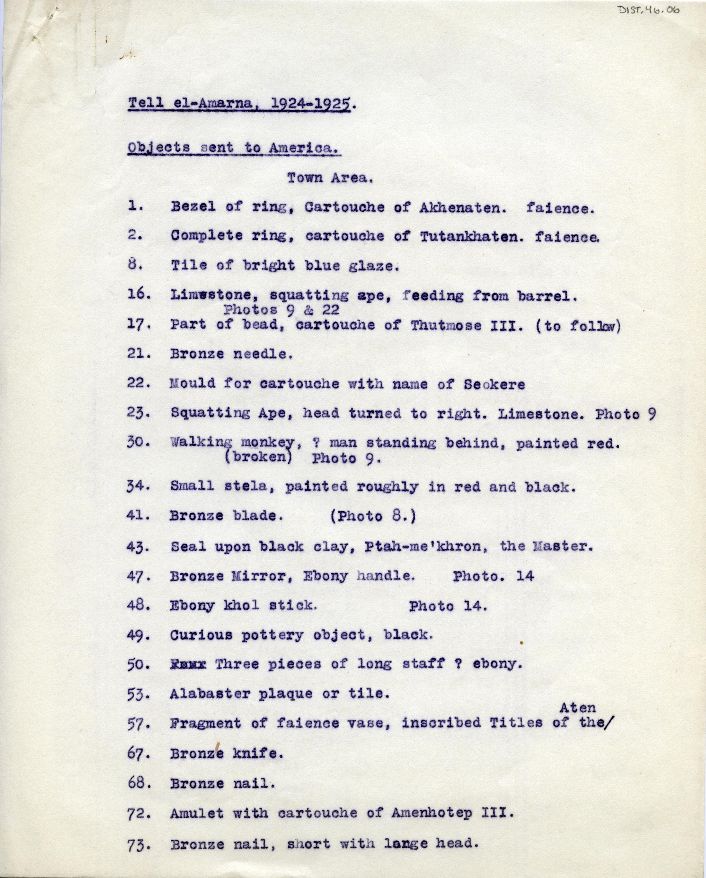 1921-25 el-Amarna DIST.46.06a