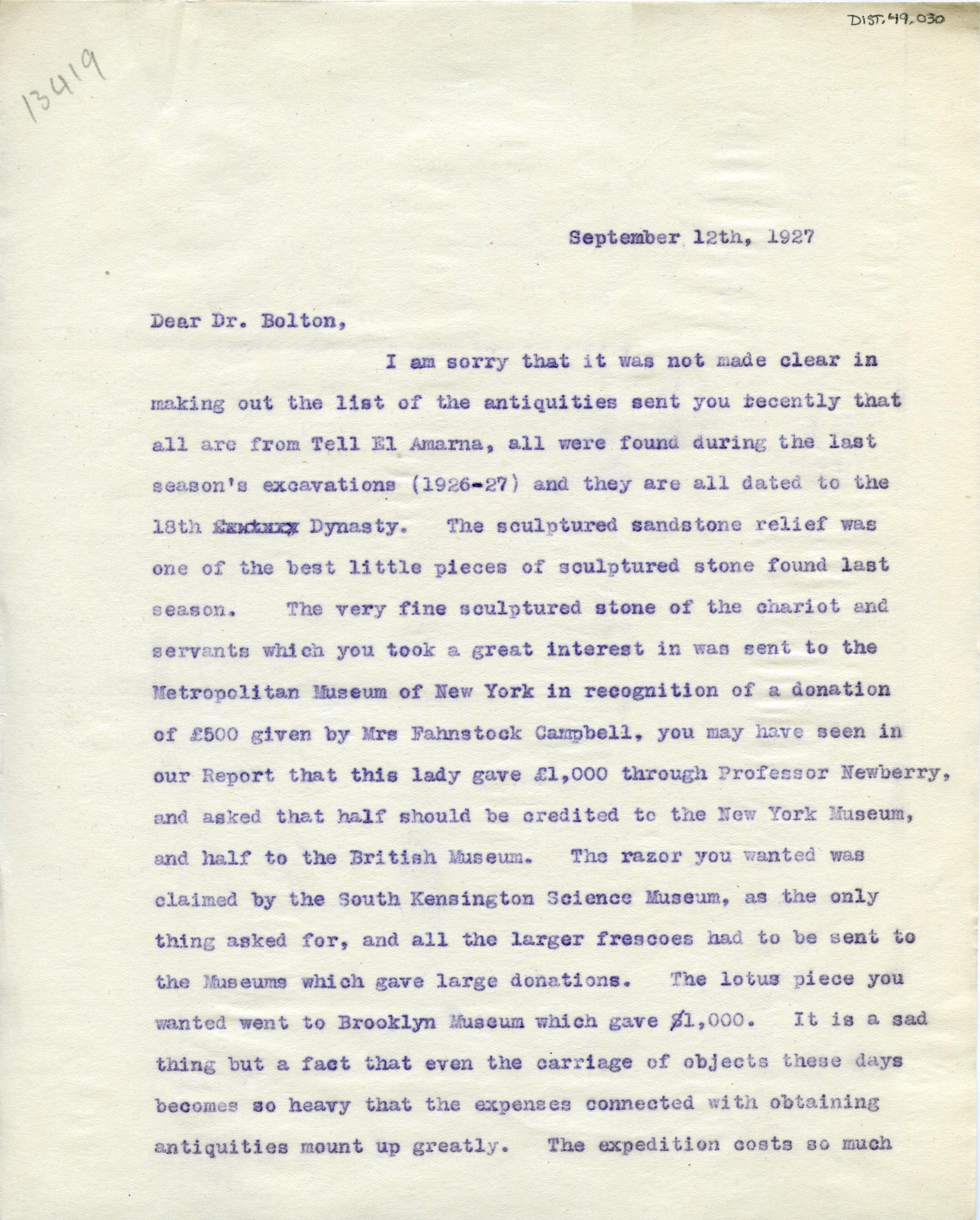 1926-27 el-Amarna DIST.49.030a