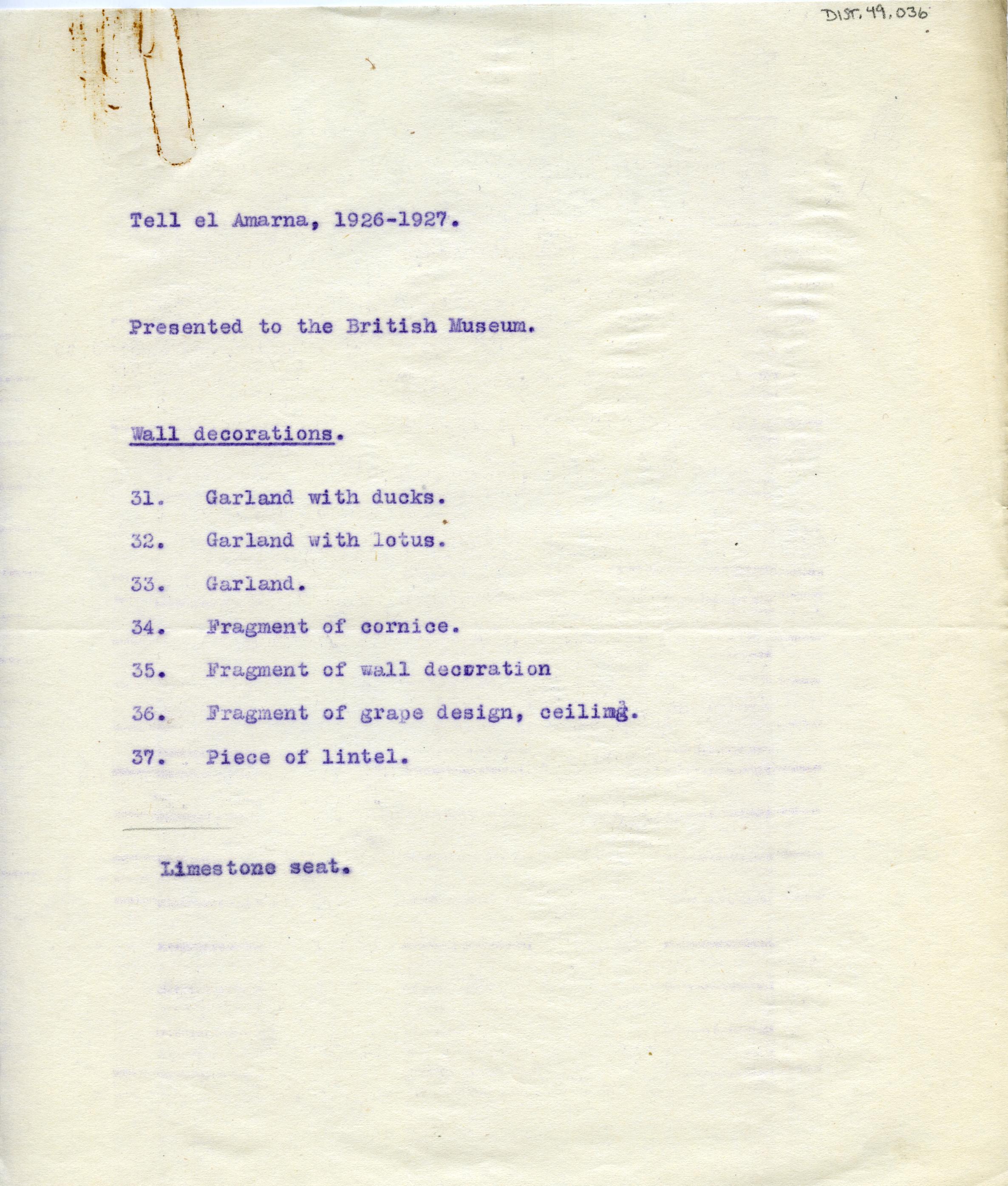 1926-27 el-Amarna DIST.49.036a