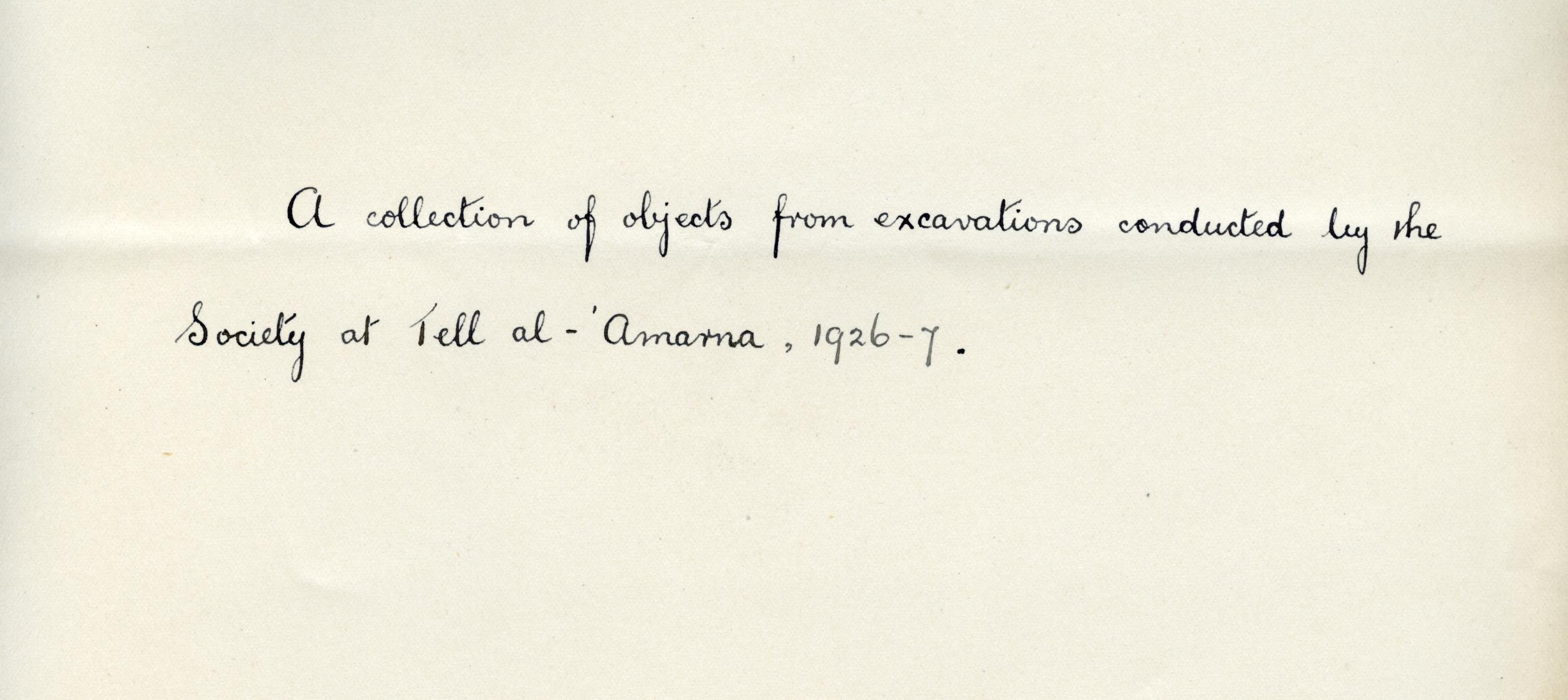 1926-27 el-Amarna DIST.49.038b