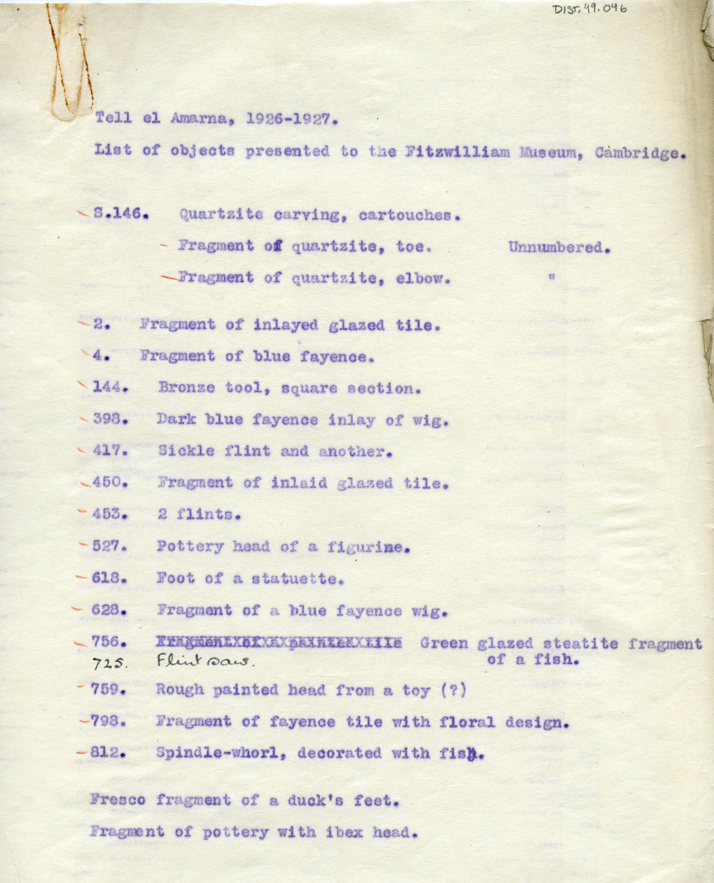 1926-27 el-Amarna DIST.49.046