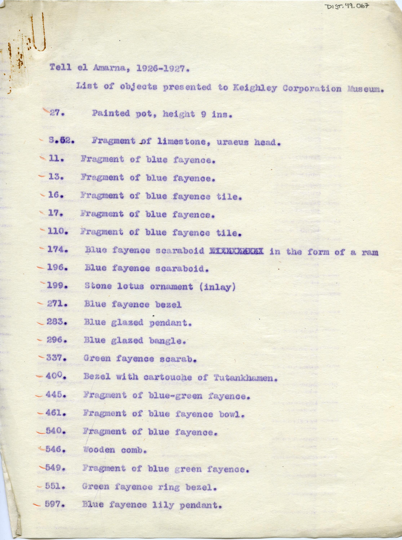 1926-27 el-Amarna DIST.49.067a