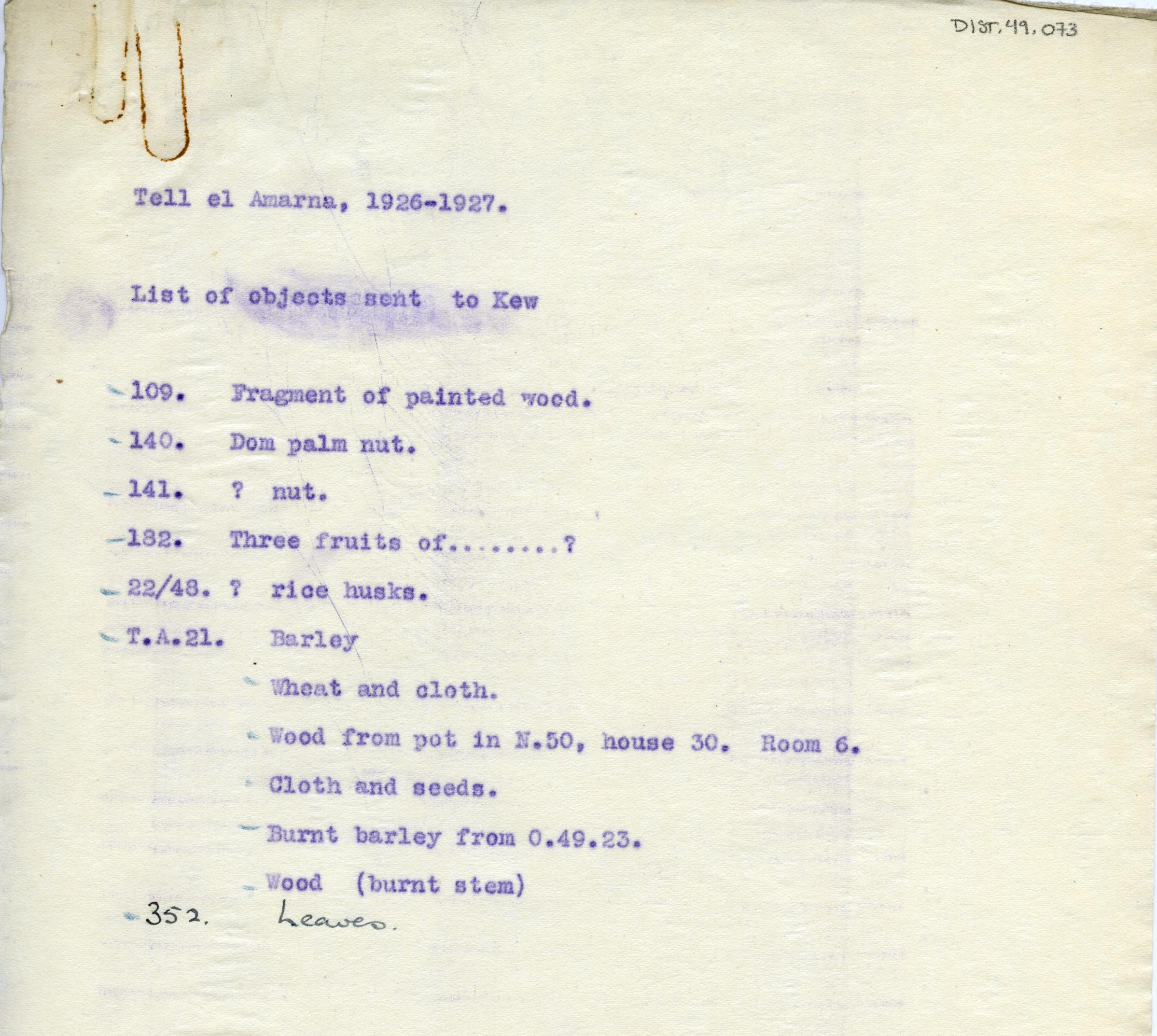 1926-27 el-Amarna DIST.49.073