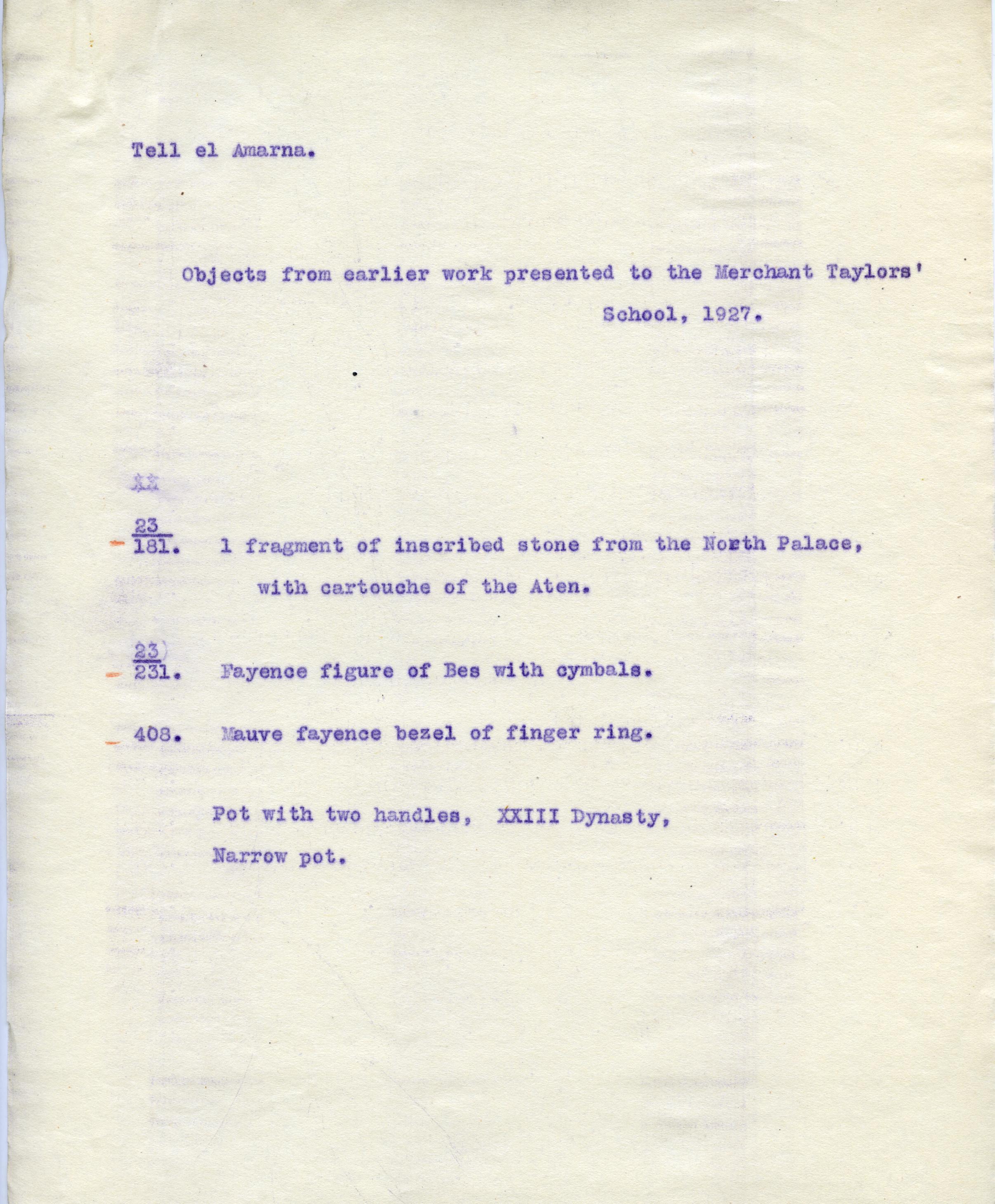 1926-27 el-Amarna DIST.49.082b