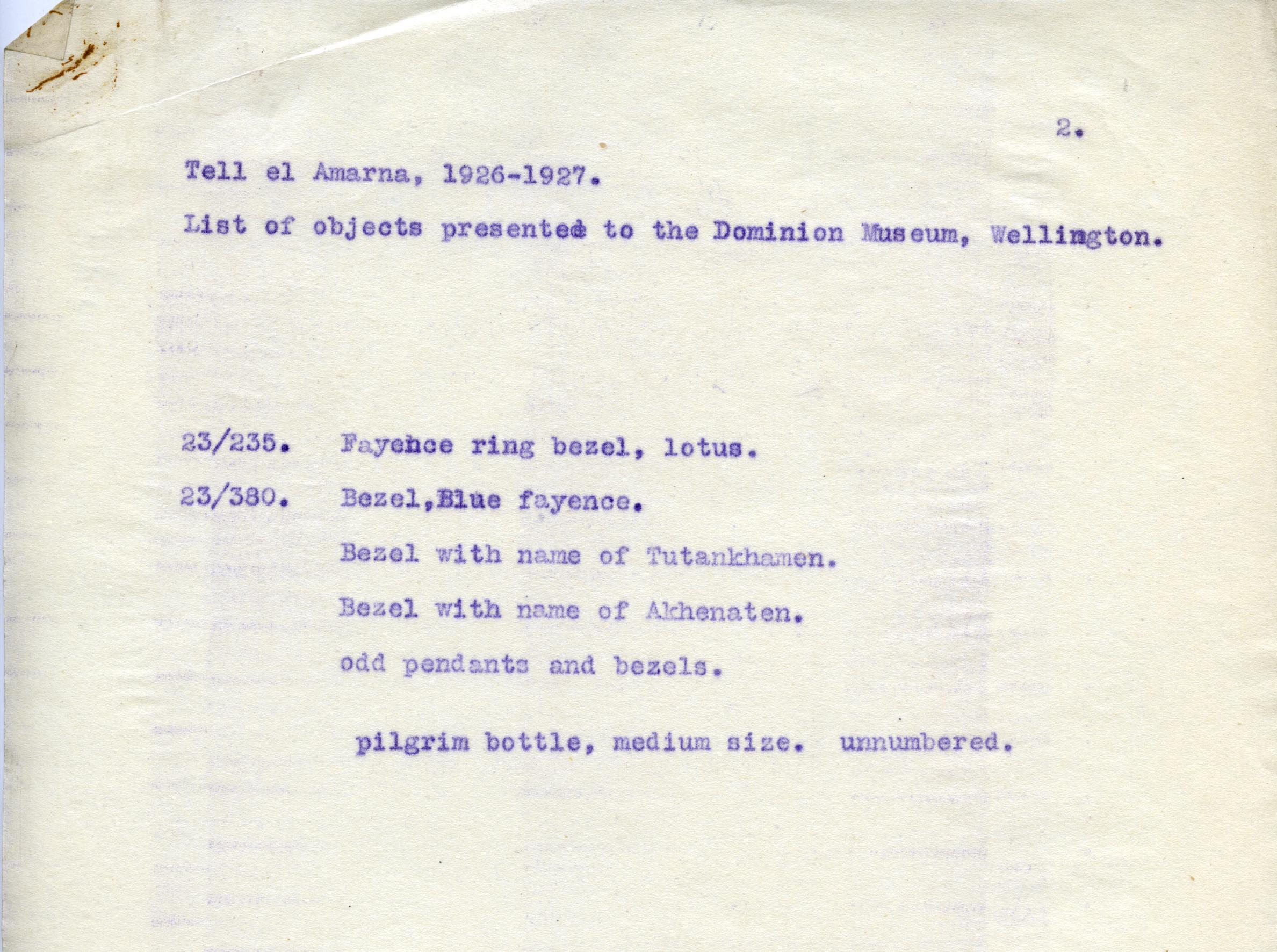 1926-27 el-Amarna DIST.49.110b