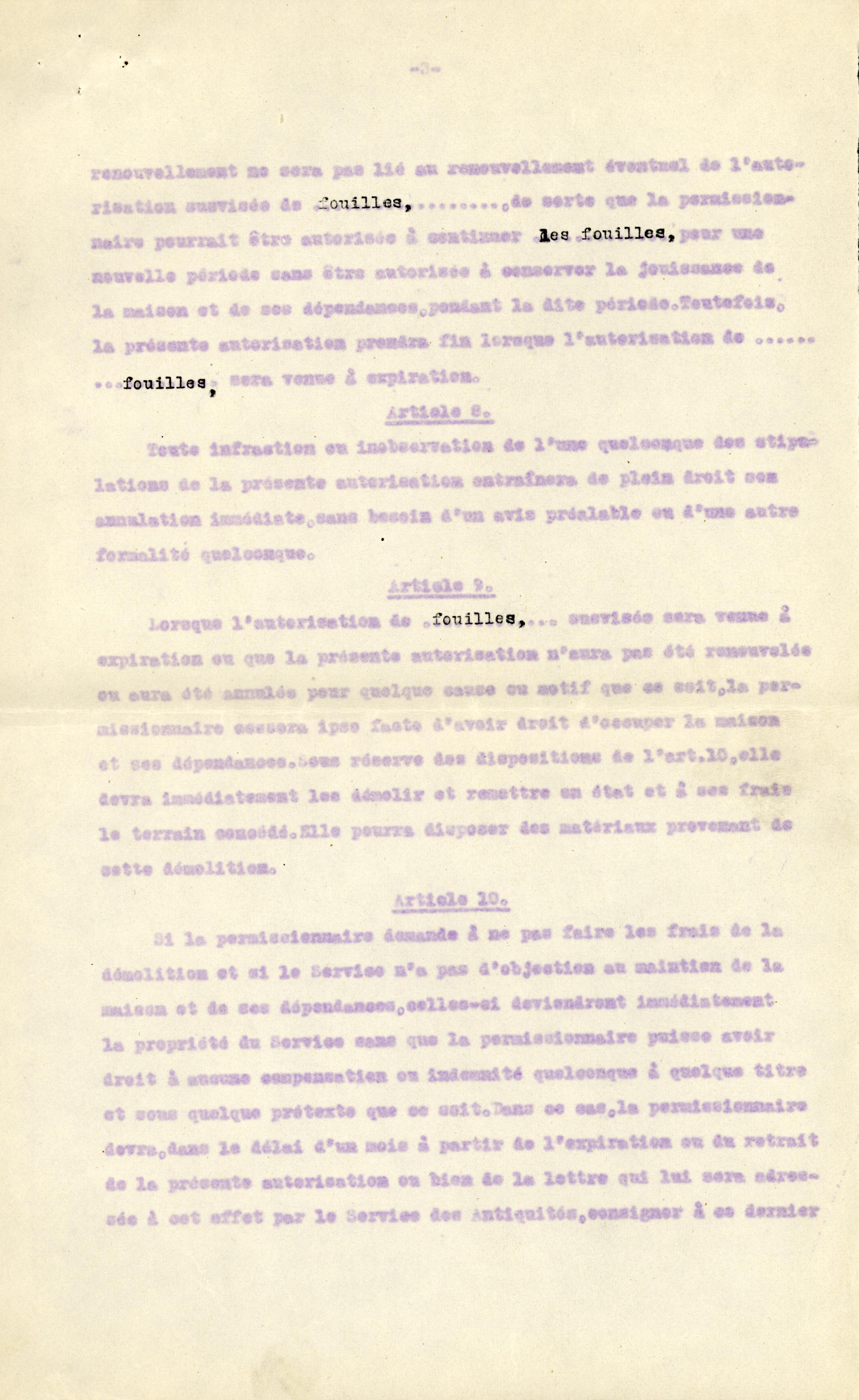 1926-39 correspondence with Antiquities Service DIST.50.08c