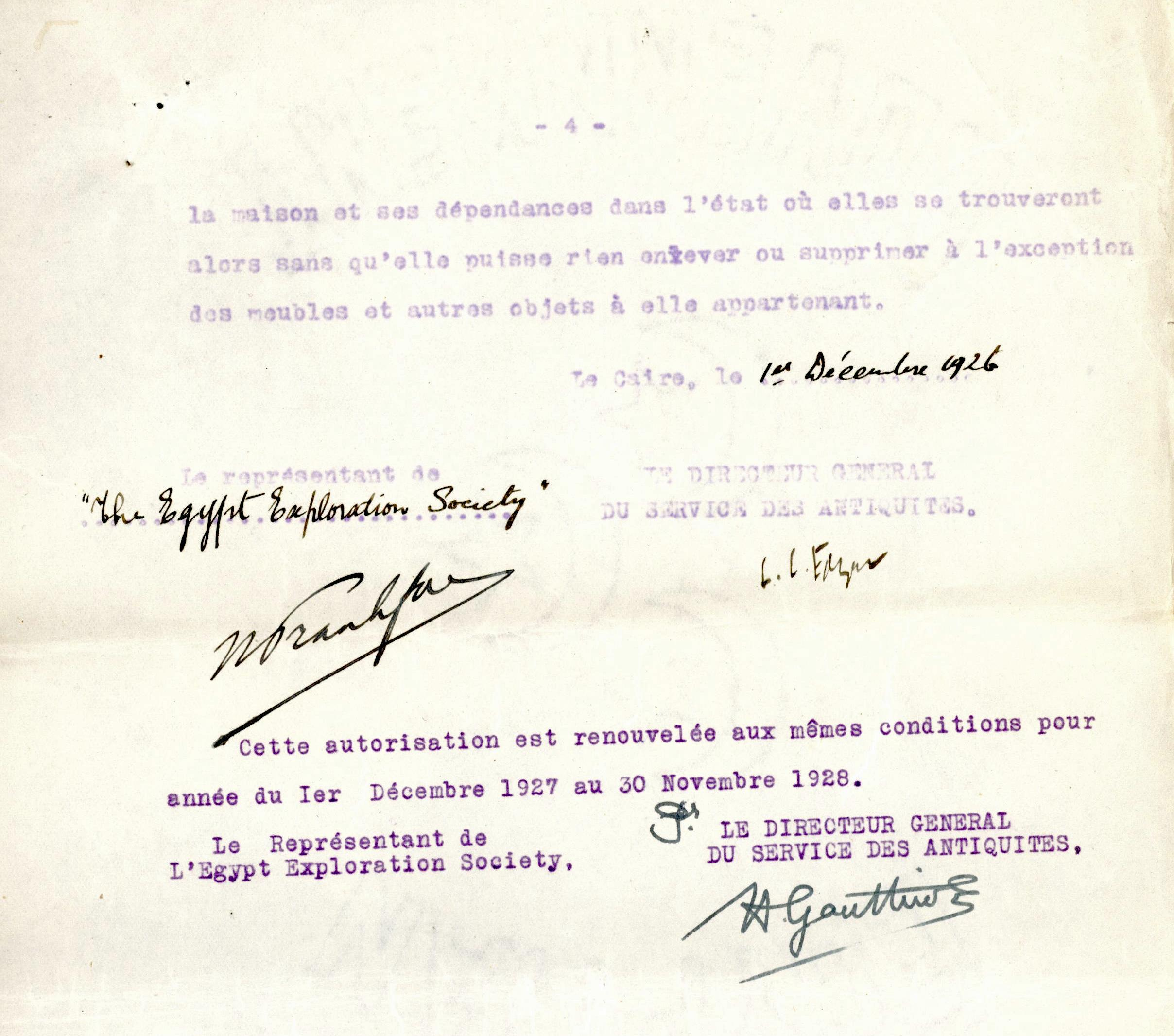 1926-39 correspondence with Antiquities Service DIST.50.09d