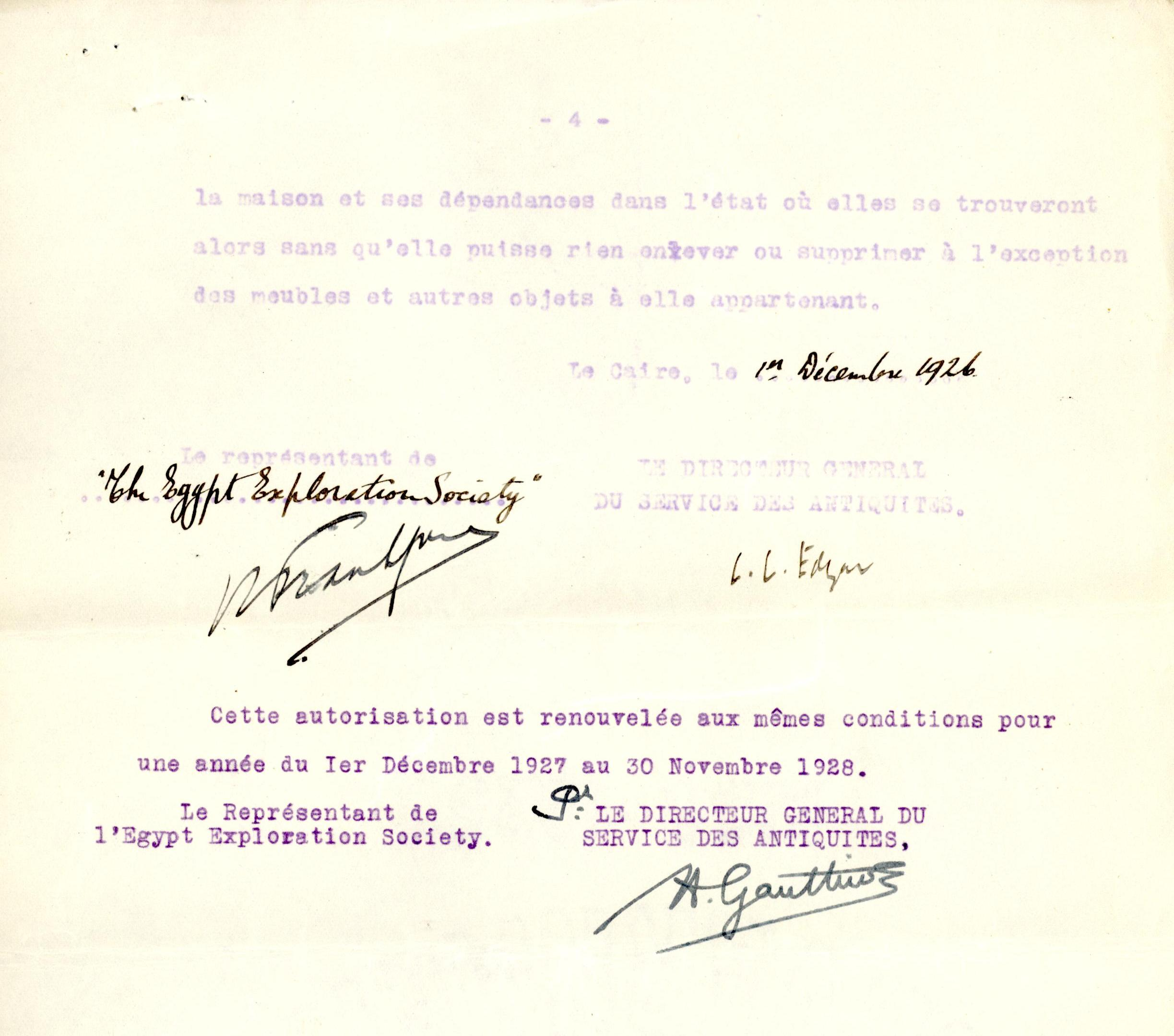 1926-39 correspondence with Antiquities Service DIST.50.10d