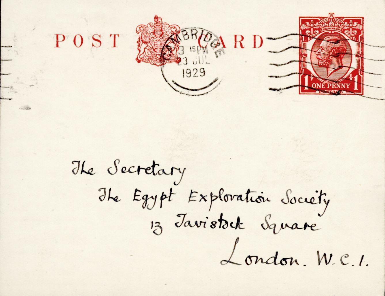 1928-29 el-Amarna and Armant DIST.51.34b