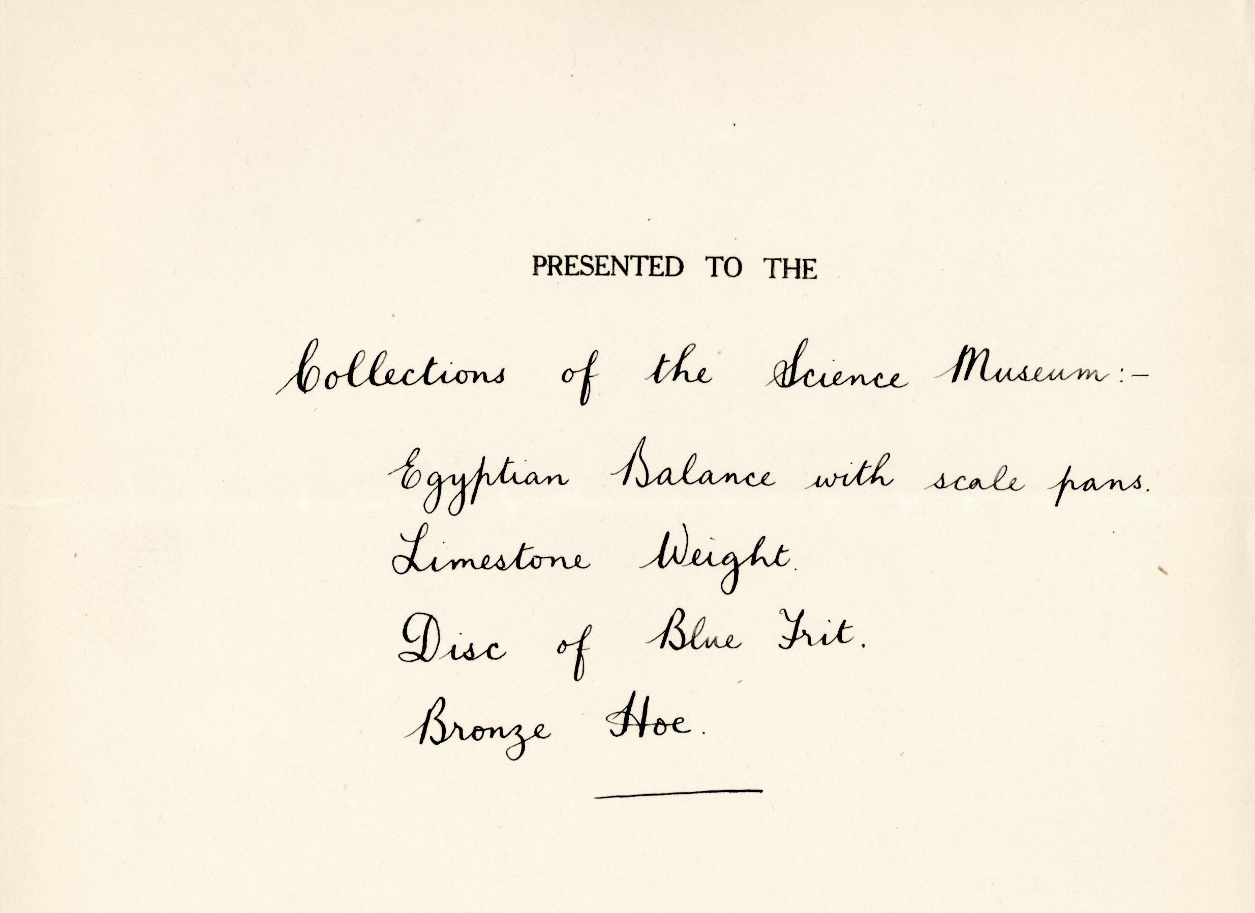 1928-29 el-Amarna and Armant DIST.51.50b